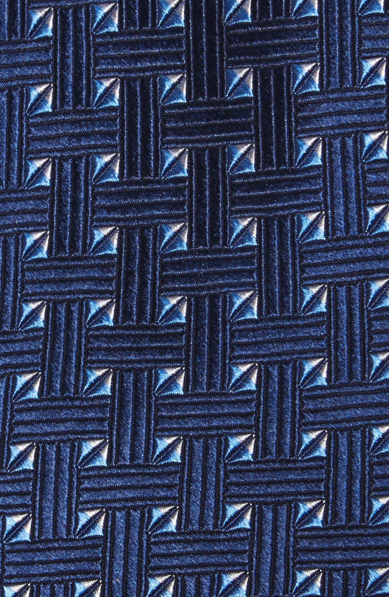 Geometric Silk Tie,                             Alternate thumbnail 9, color,
