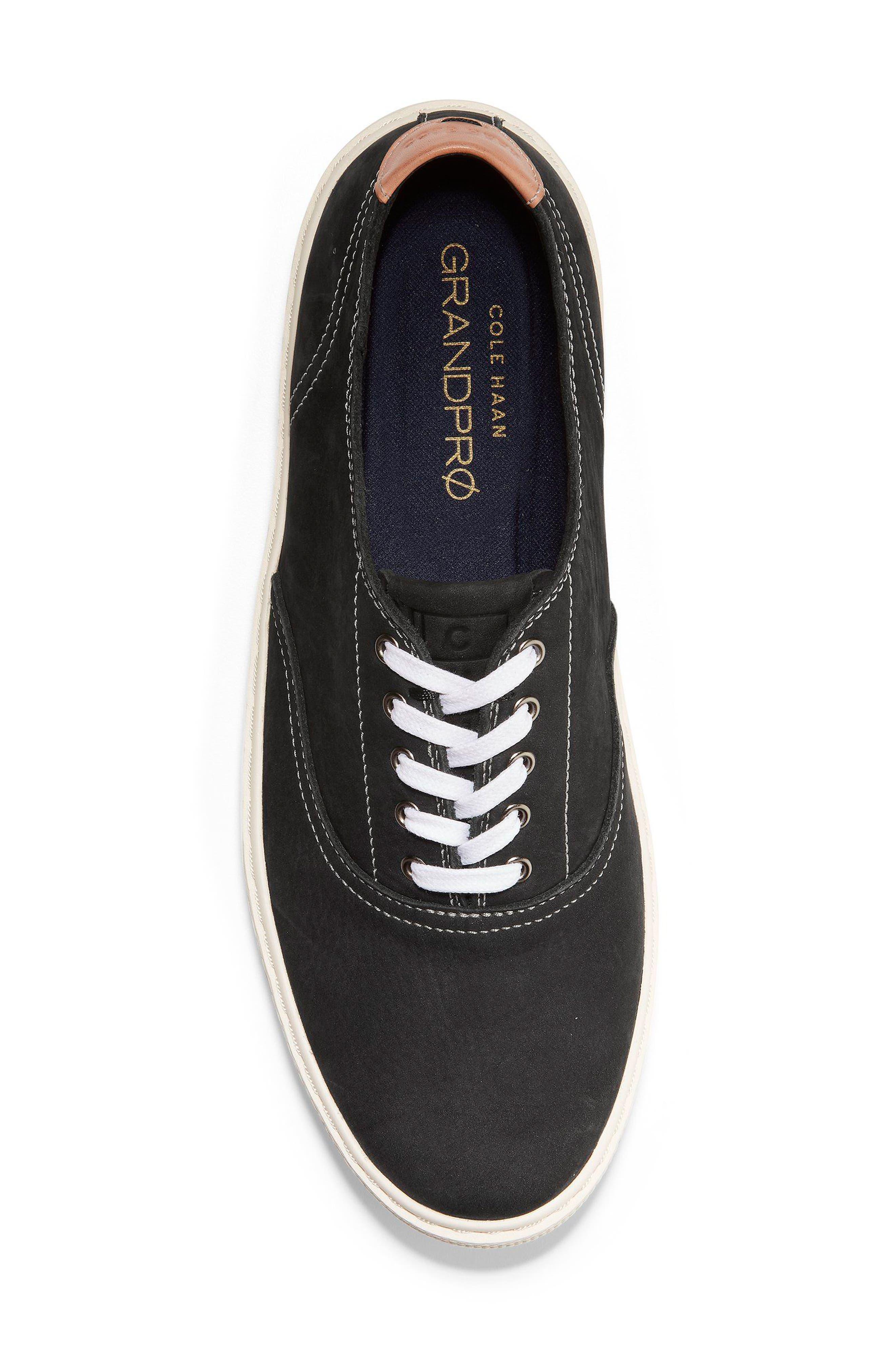 GrandPro Deck Low Top Sneaker,                             Alternate thumbnail 5, color,                             001