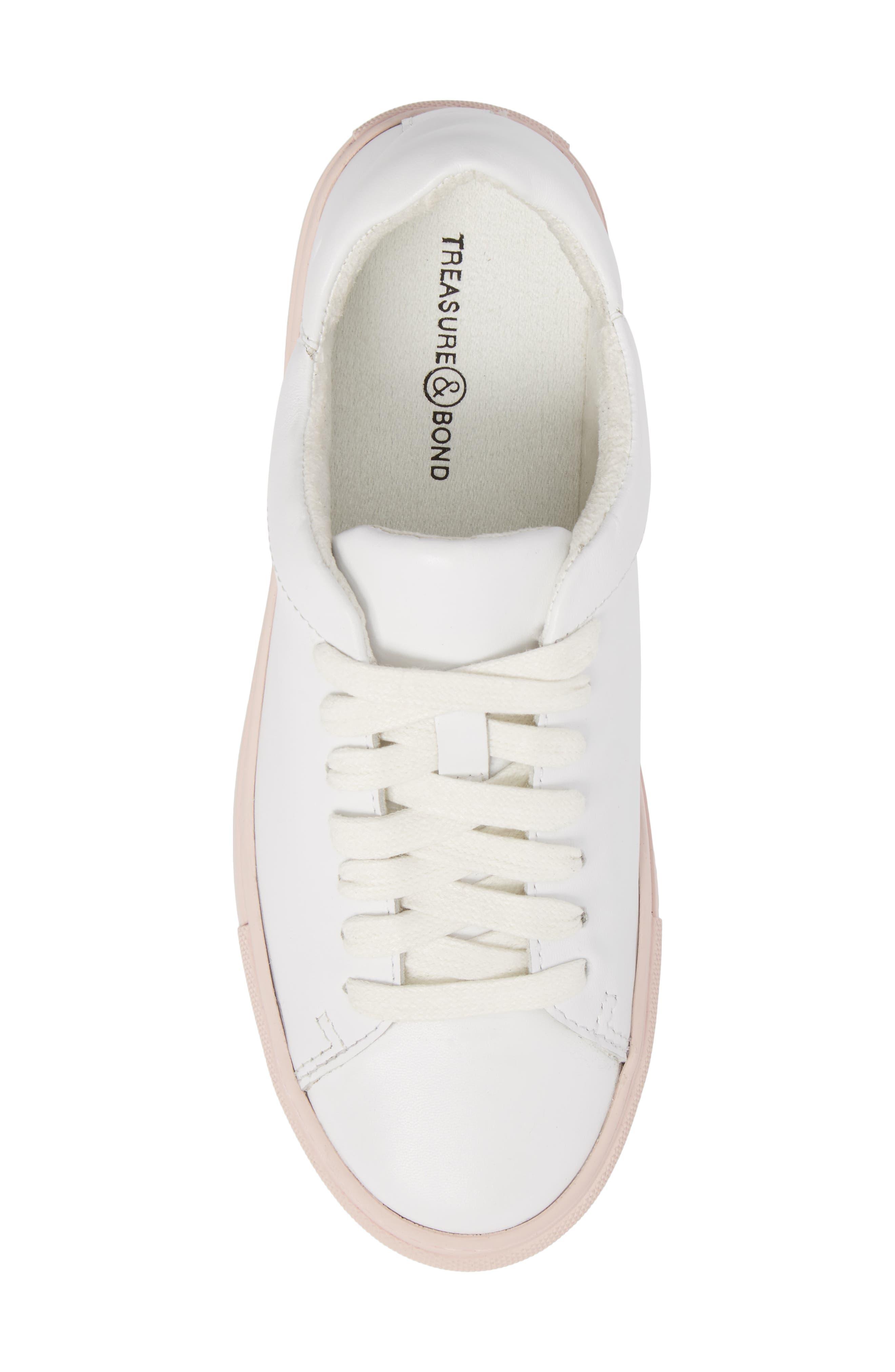 Cassidy Sneaker,                             Alternate thumbnail 5, color,                             100