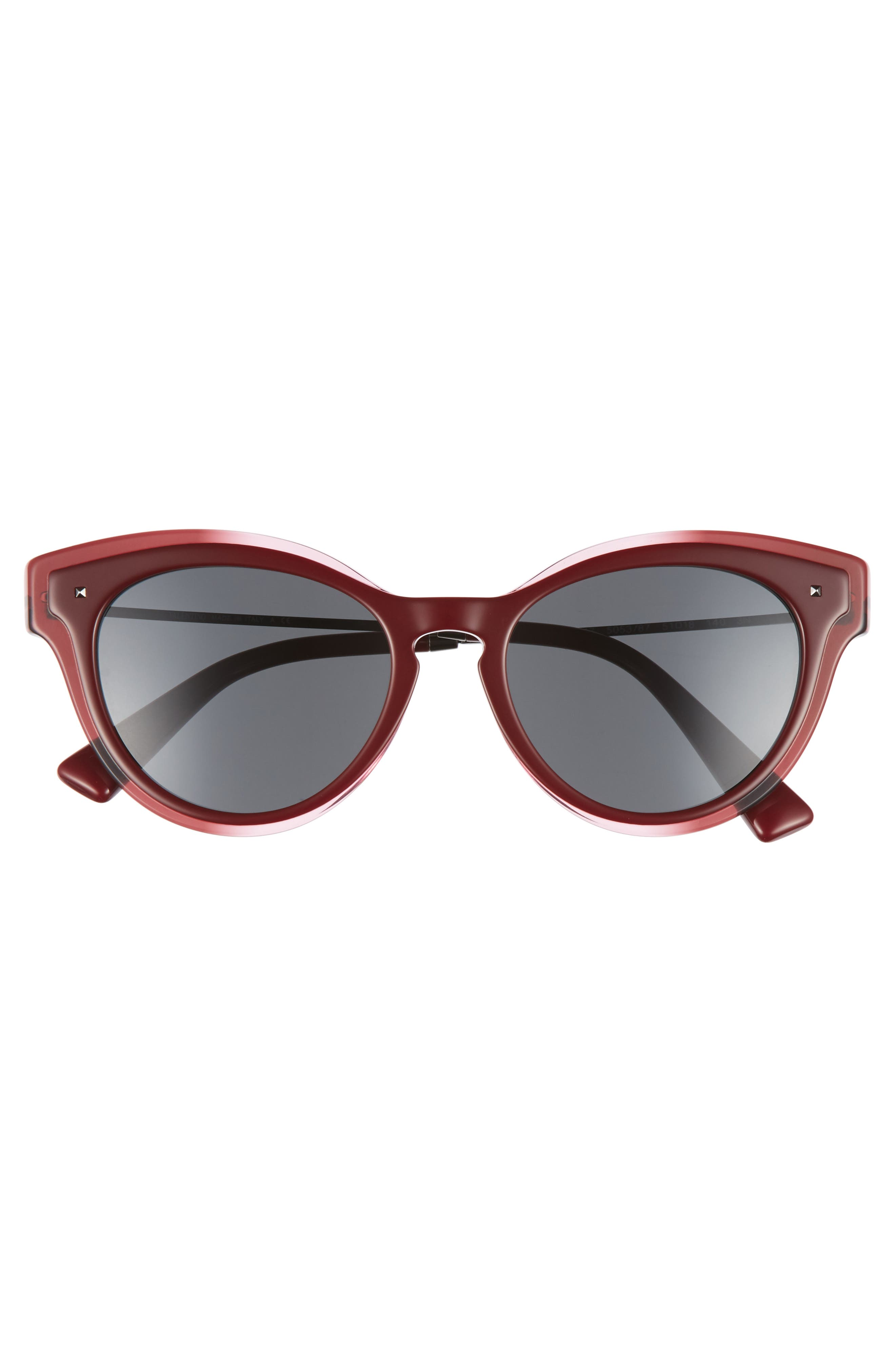 51mm Cat Eye Sunglasses,                             Alternate thumbnail 3, color,                             600