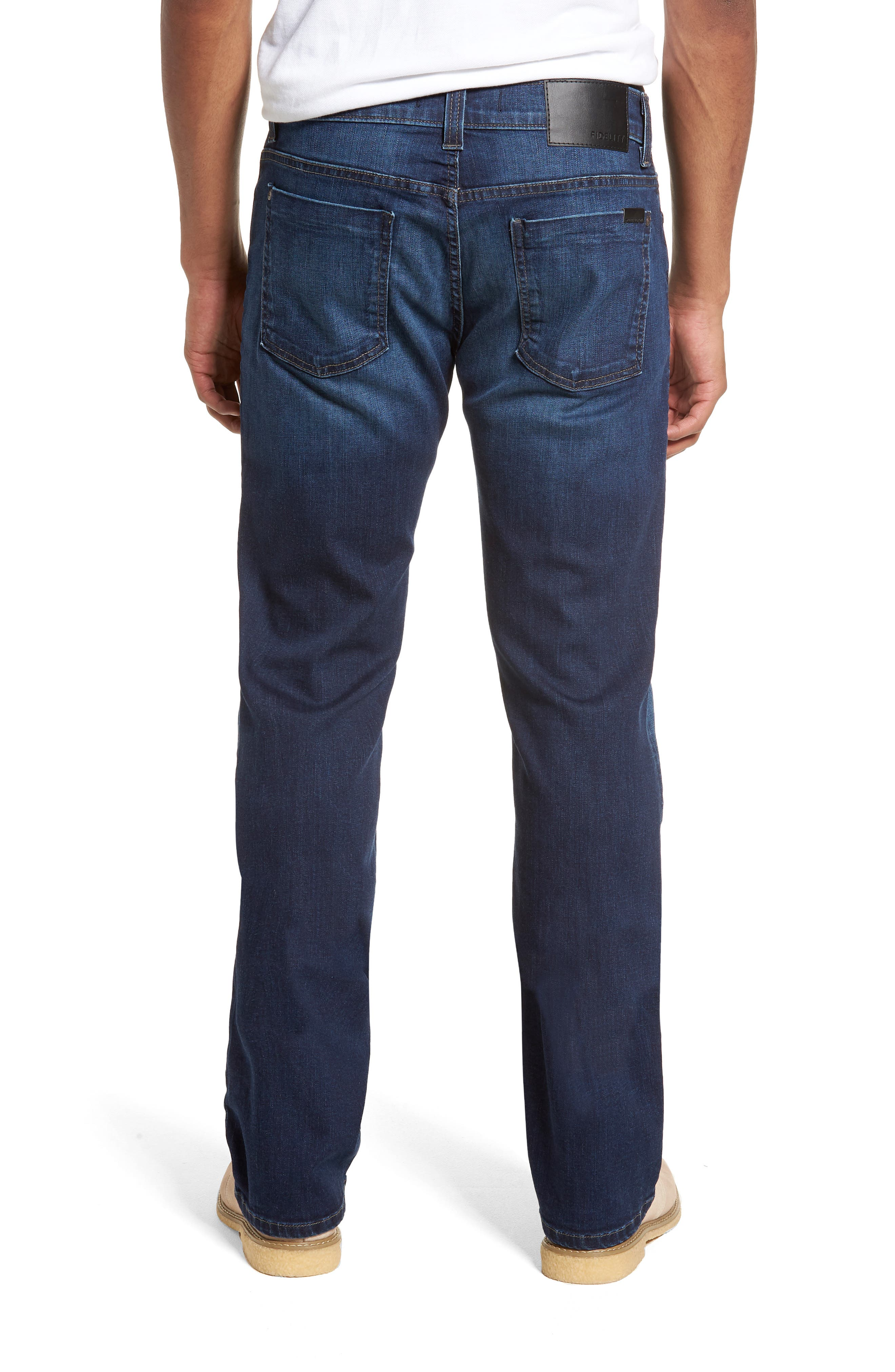 50-11 Relaxed Fit Jeans,                             Alternate thumbnail 2, color,                             CORNELL BLUE