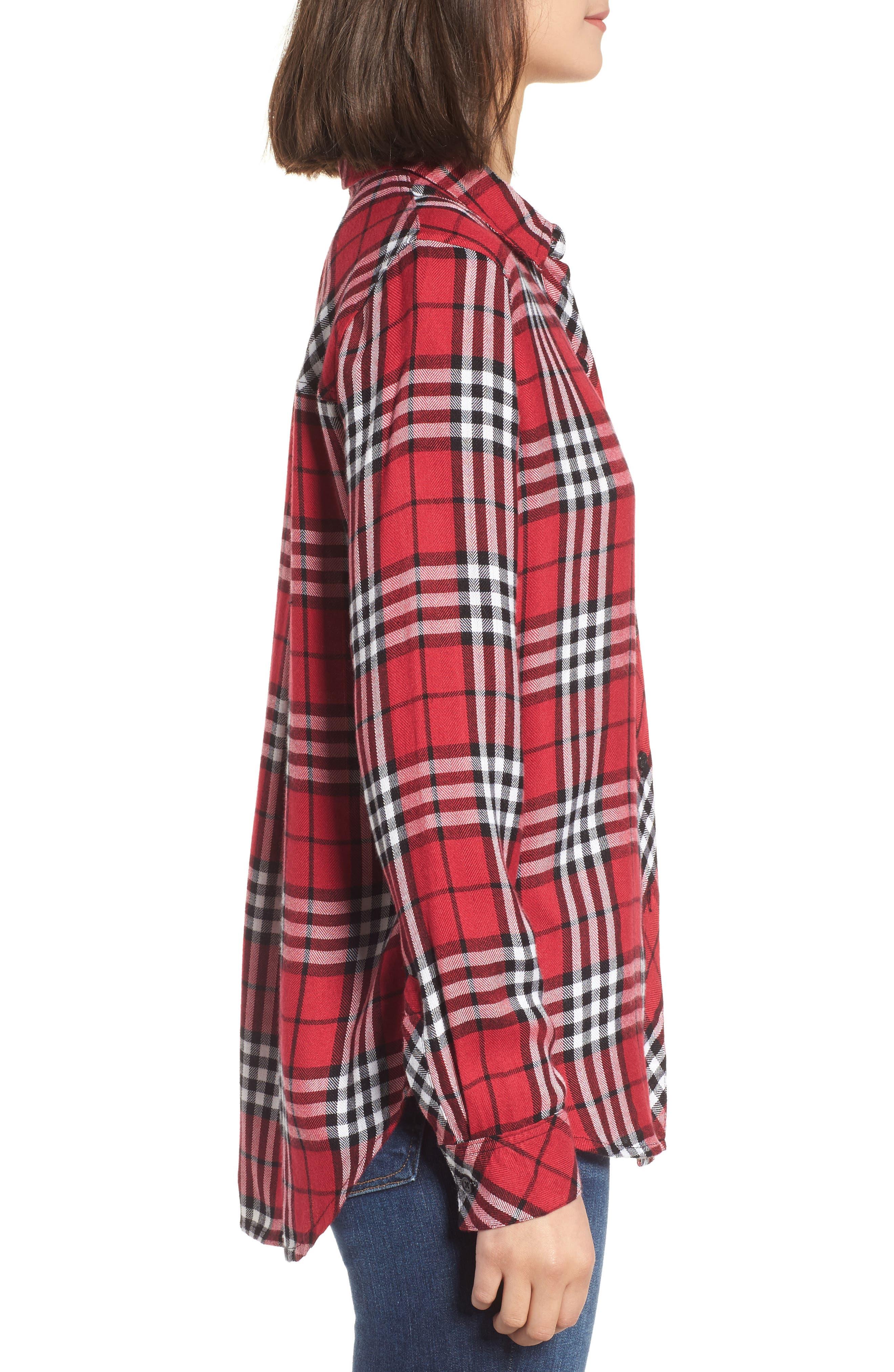 Hunter Plaid Shirt,                             Alternate thumbnail 351, color,