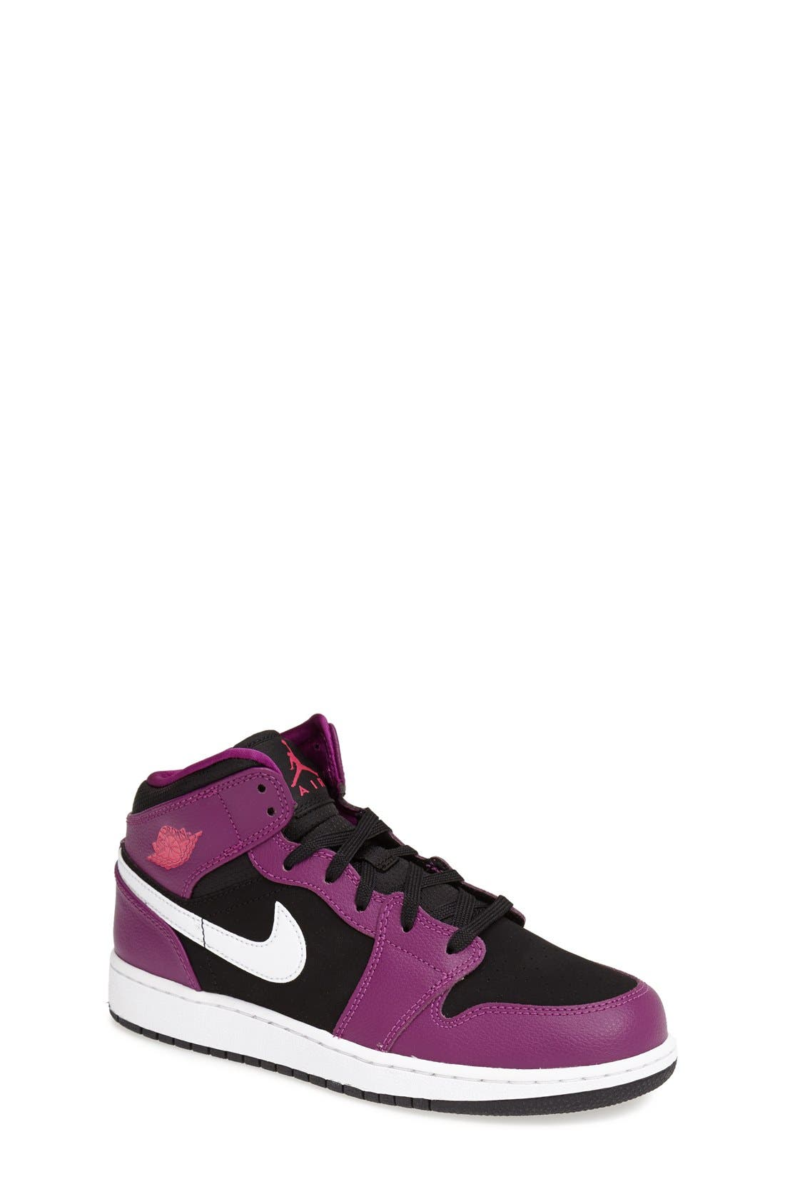 Nike 'Air Jordan 1 Mid' Sneaker,                             Main thumbnail 5, color,