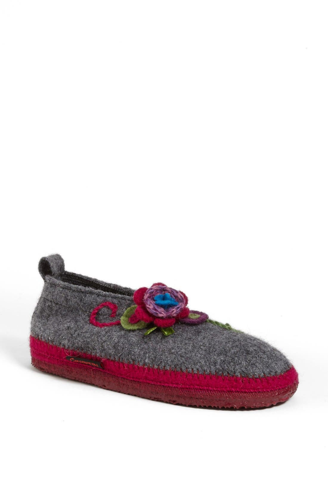'Lunz' Slipper,                             Main thumbnail 1, color,                             LIGHT GREY