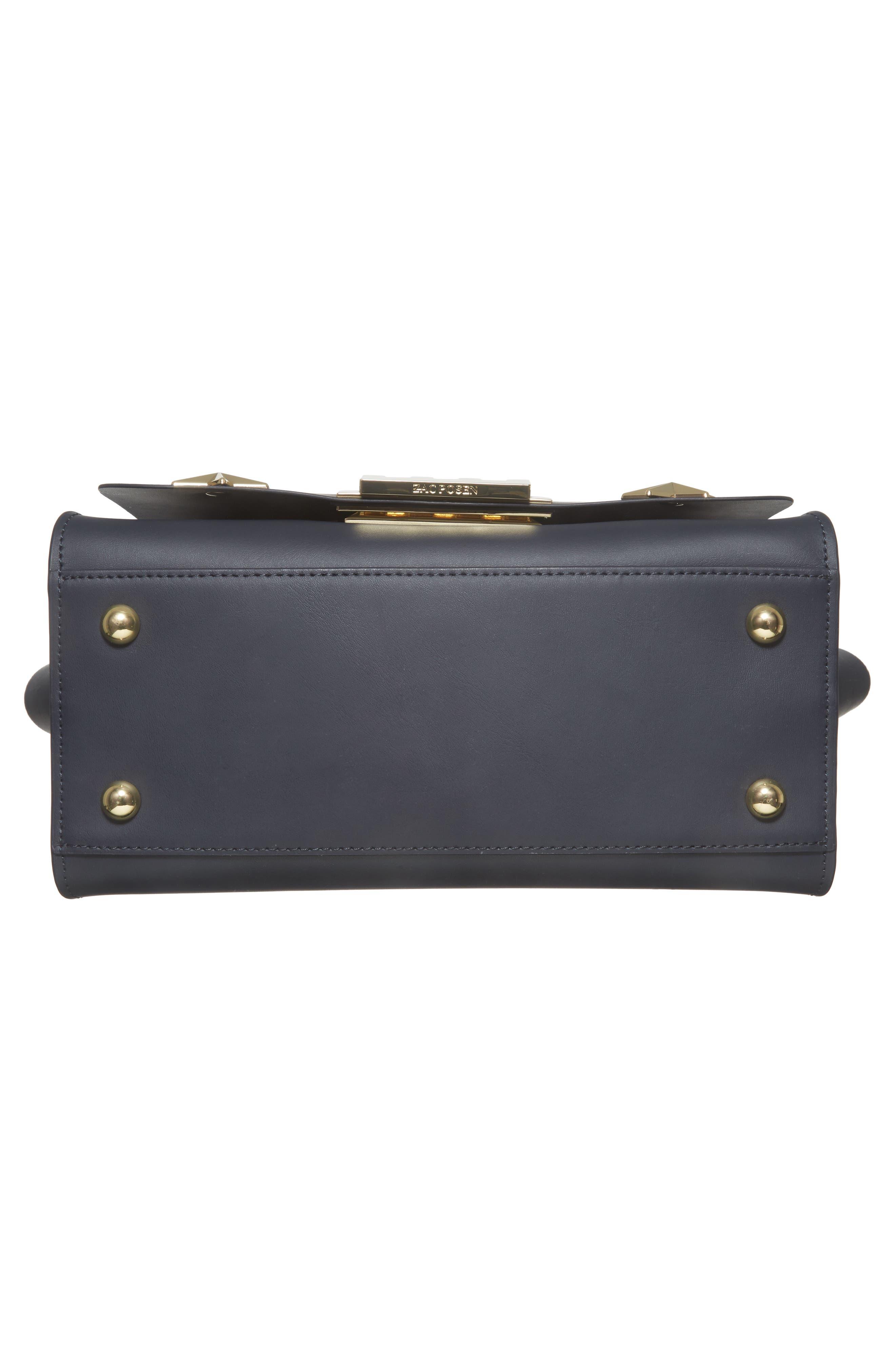 Eartha Iconic Calfskin Leather Top Handle Satchel,                             Alternate thumbnail 6, color,                             410