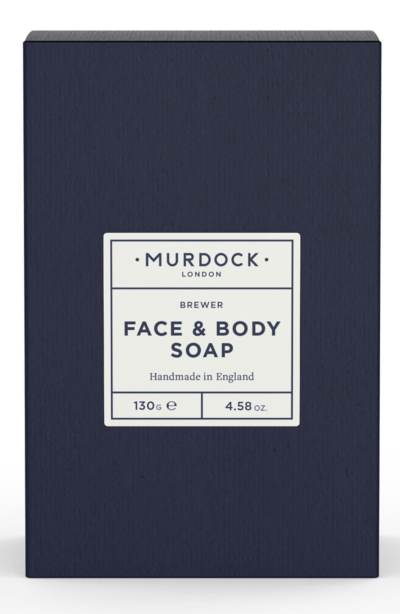 Face & Body Soap,                             Main thumbnail 1, color,                             000