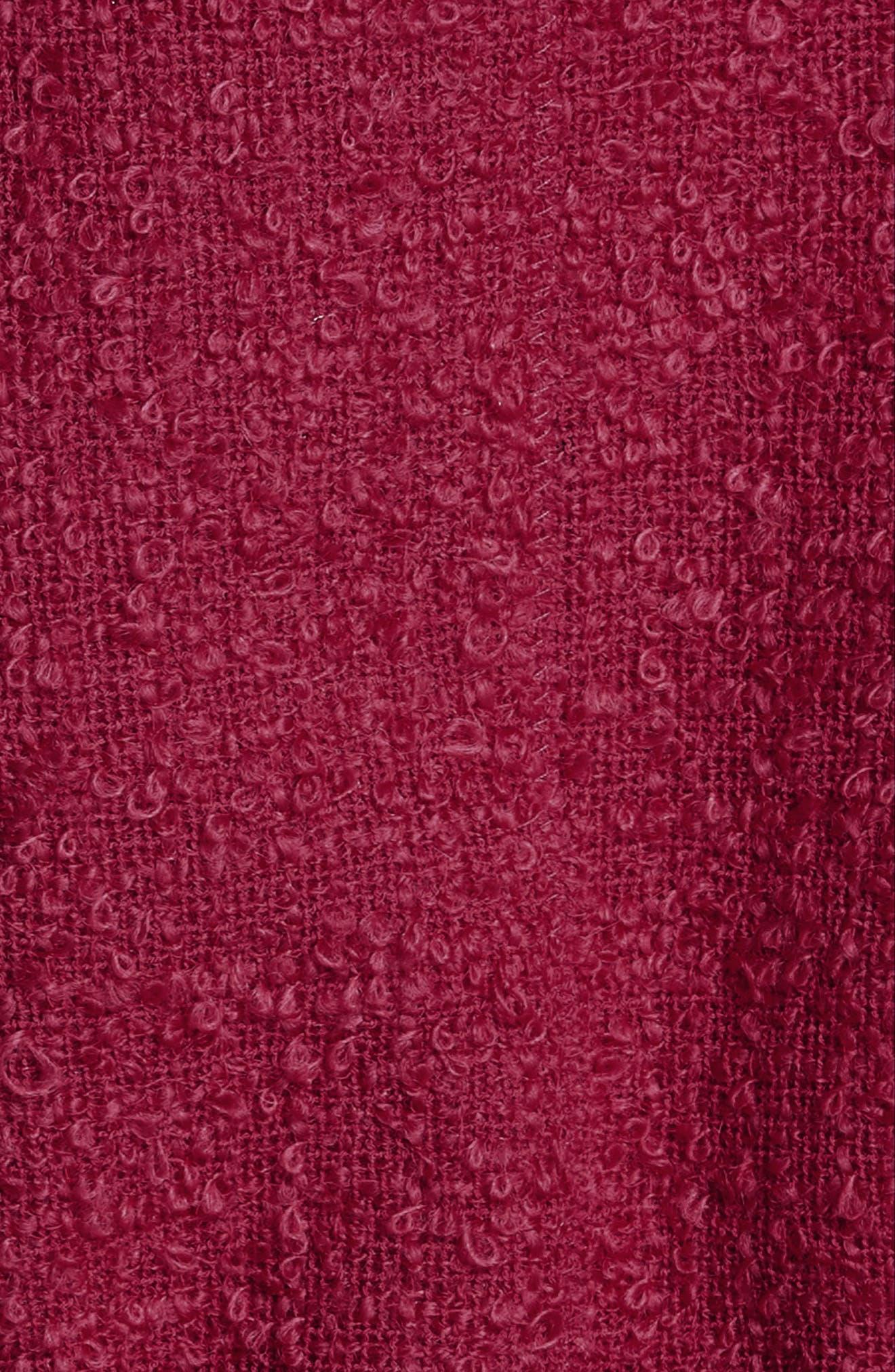 Flare Hem Tweed Skirt,                             Alternate thumbnail 5, color,                             607