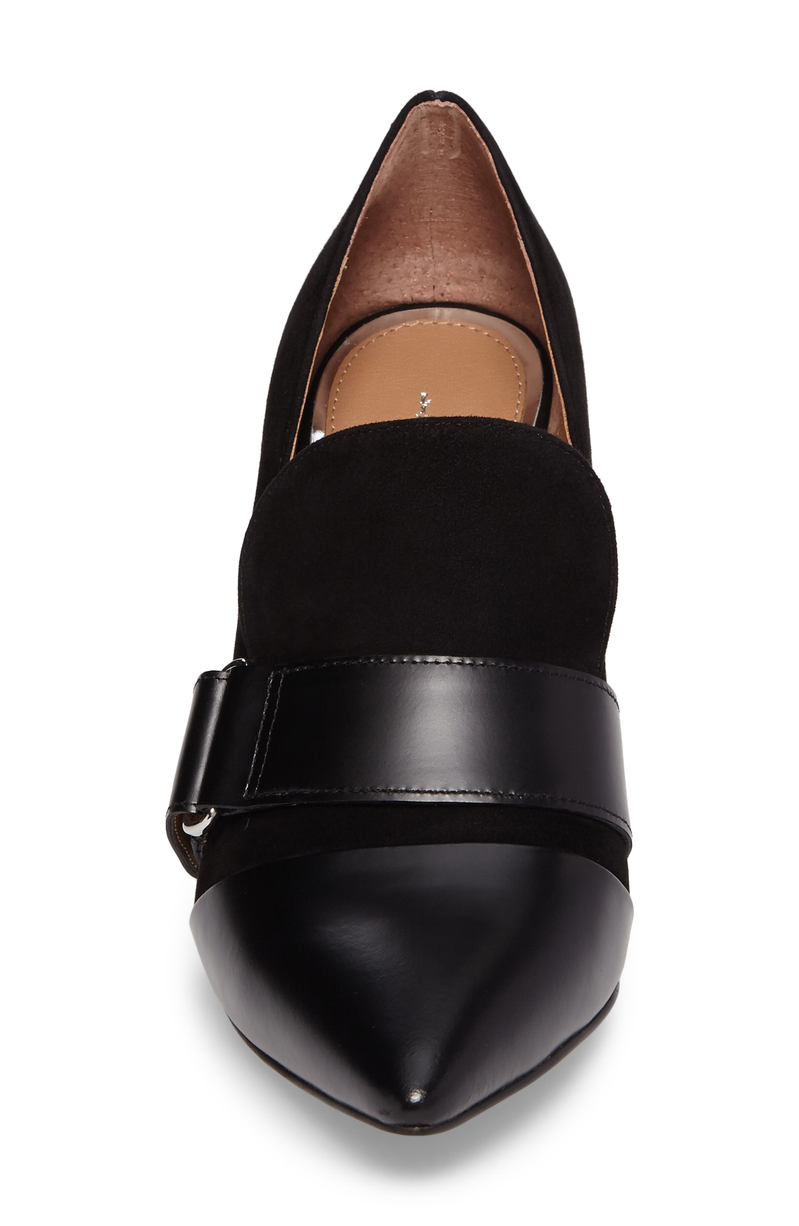 Casidy Buckle Pump,                             Alternate thumbnail 4, color,                             001