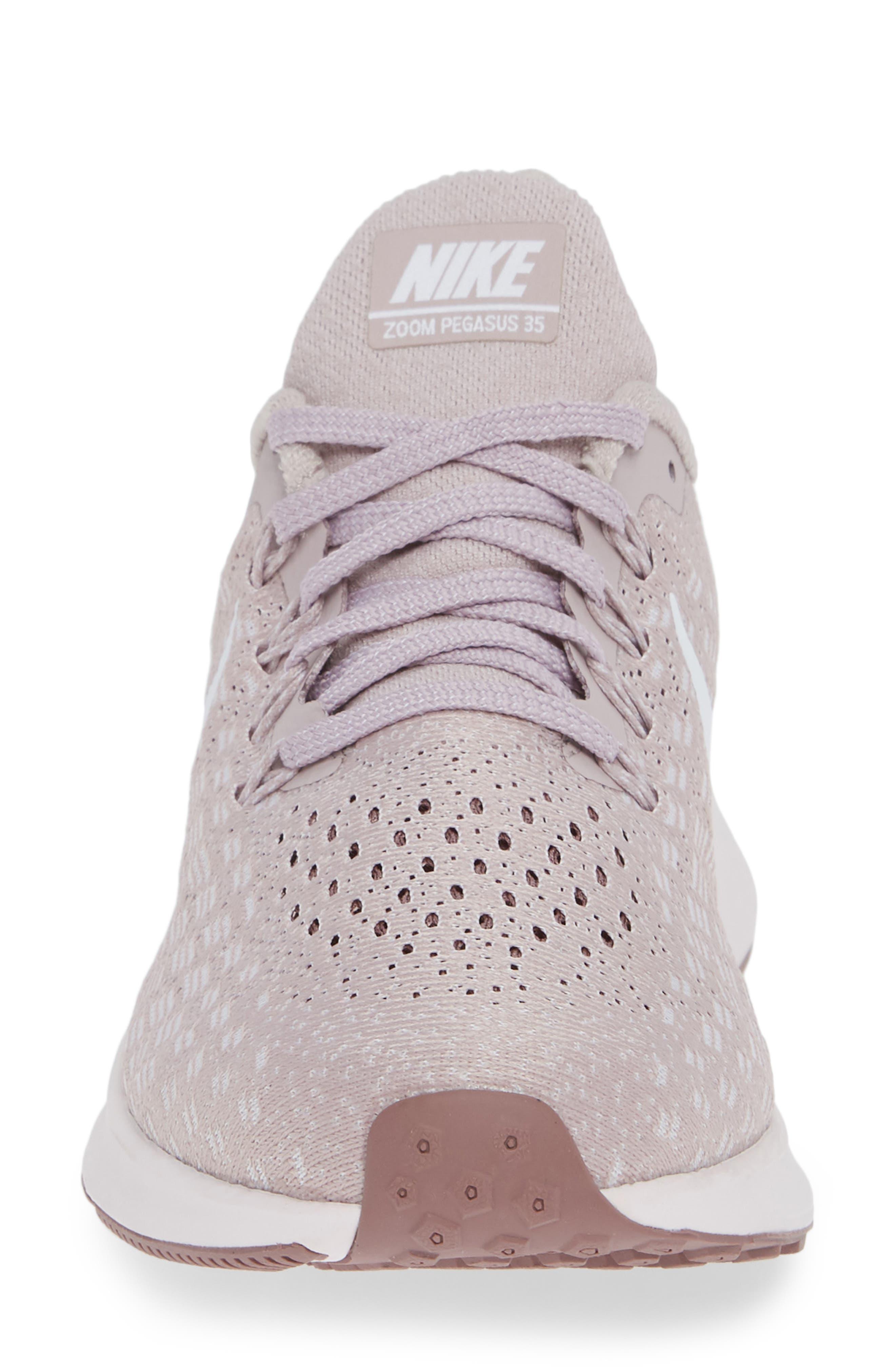 NIKE,                             Air Zoom Pegasus 35 Running Shoe,                             Alternate thumbnail 4, color,                             ROSE/ WHITE-SMOKEY MAUVE