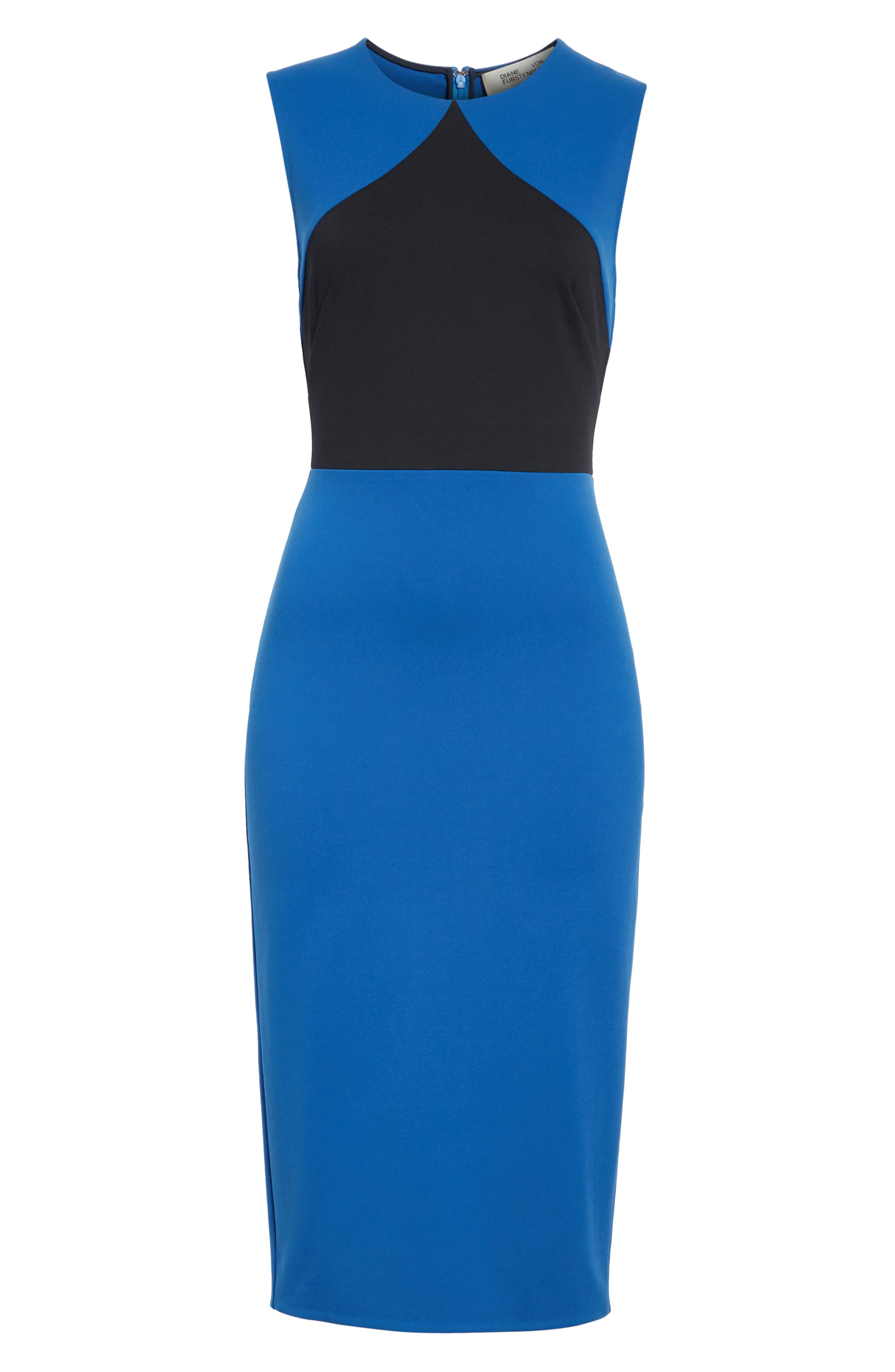 Colorblock Sheath Dress,                             Alternate thumbnail 6, color,                             413