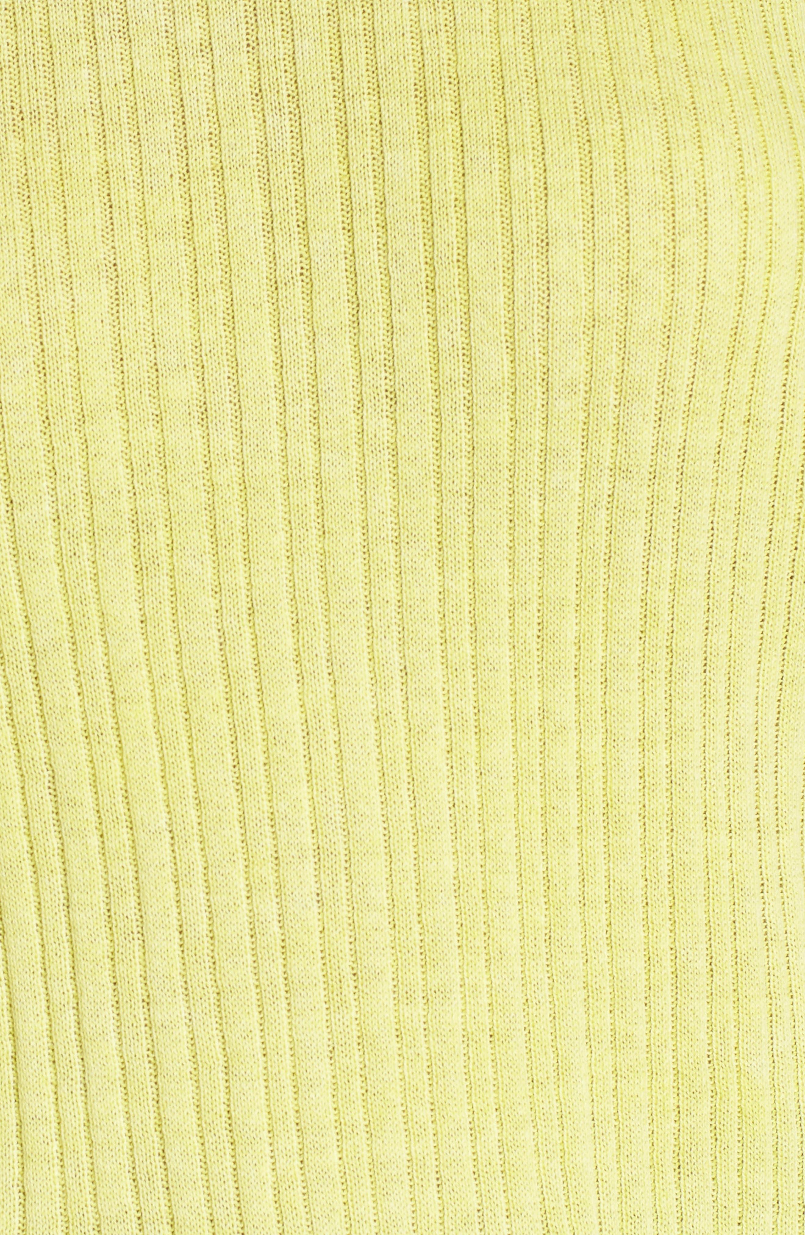 Crewneck Variegated Rib-Knit Sweater,                             Alternate thumbnail 15, color,