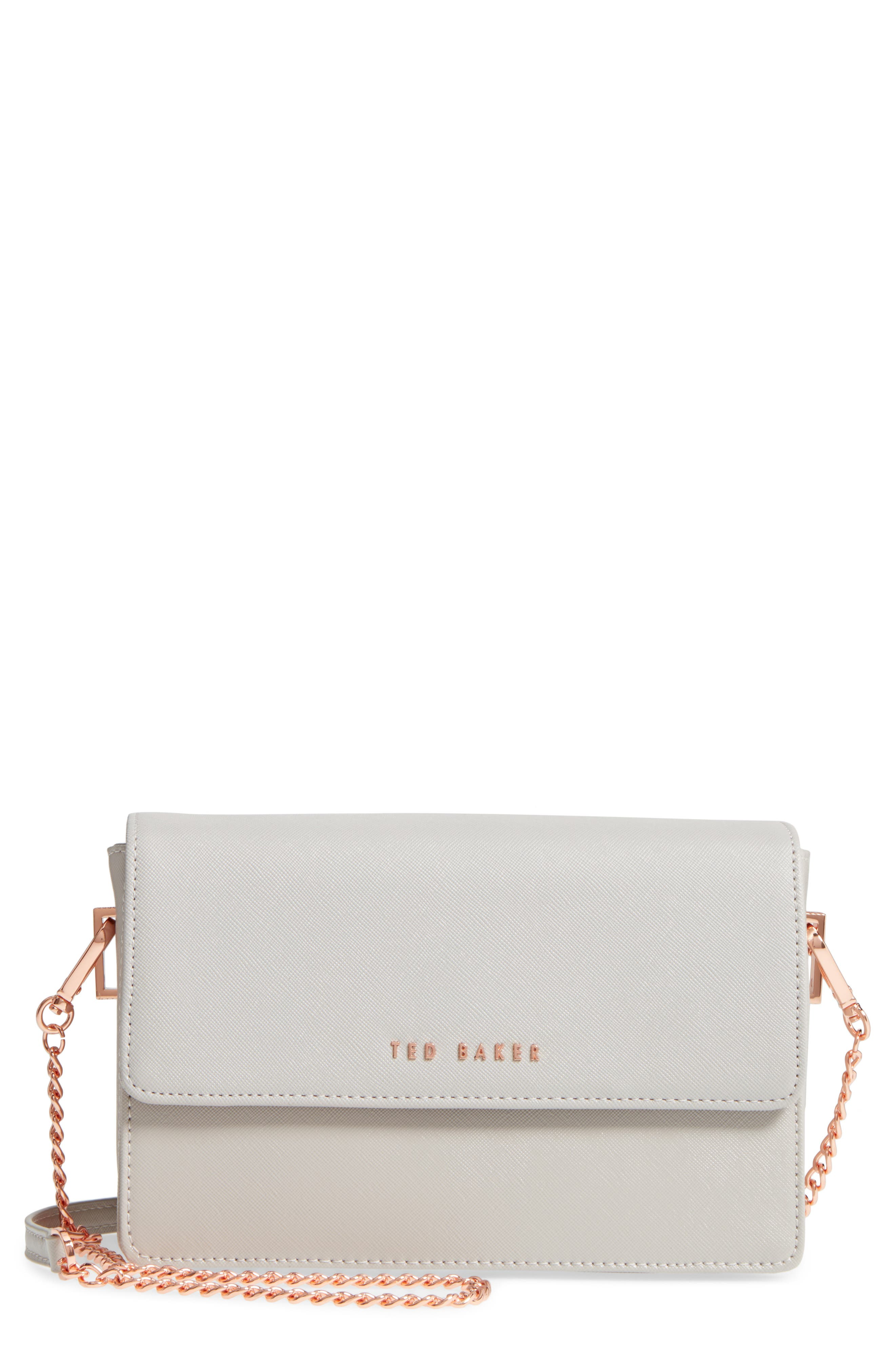 Heatha Faux Leather Crossbody Bag,                             Main thumbnail 2, color,