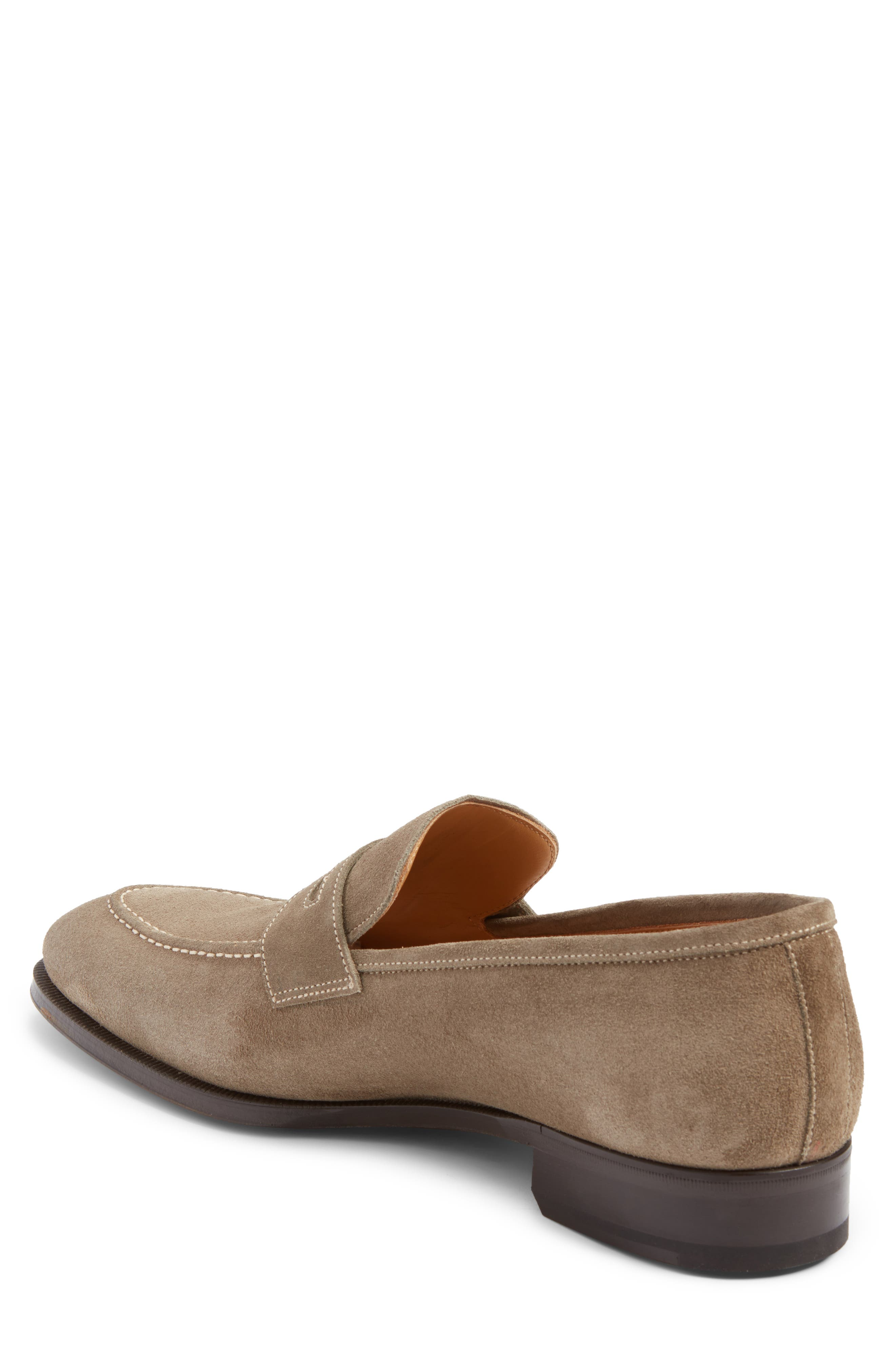 Leather Penny Loafer,                             Alternate thumbnail 10, color,