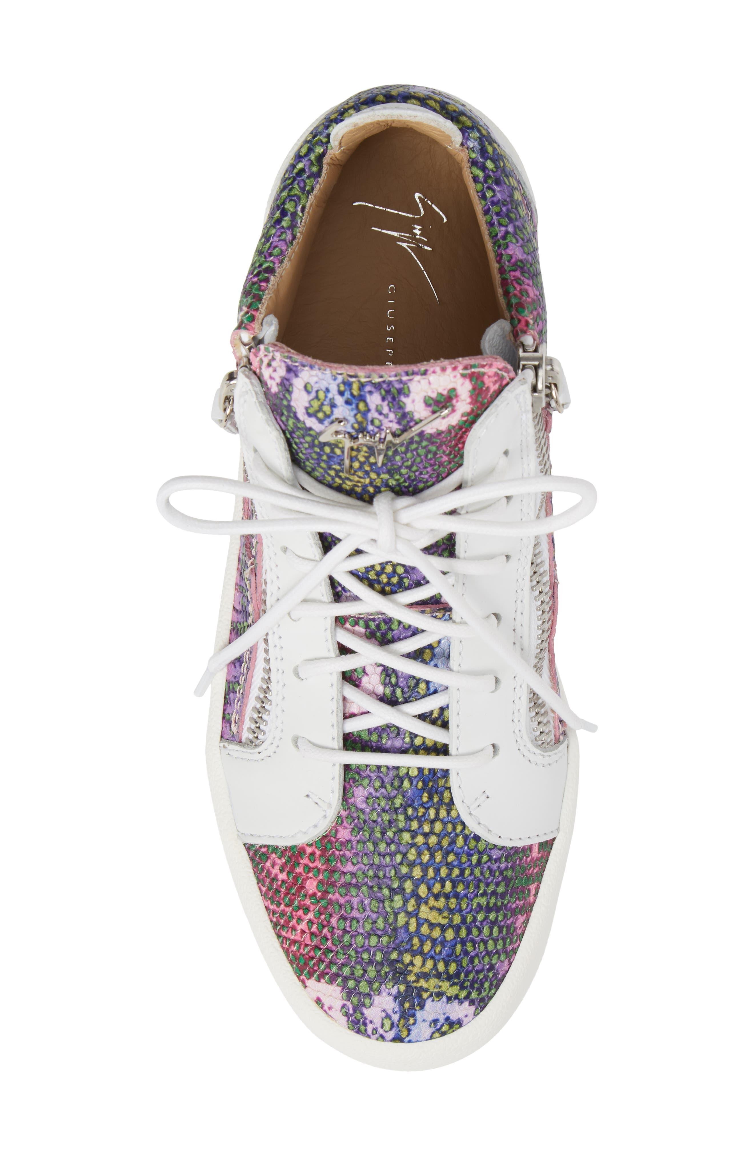 May London Mid Top Sneaker,                             Alternate thumbnail 5, color,                             PINK MULTI