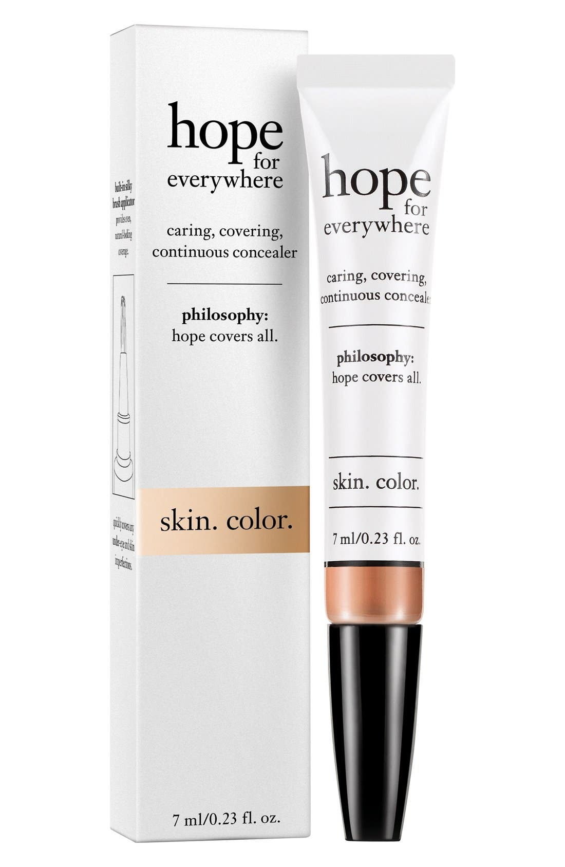 'hope for everywhere' concealer,                         Main,                         color, 255