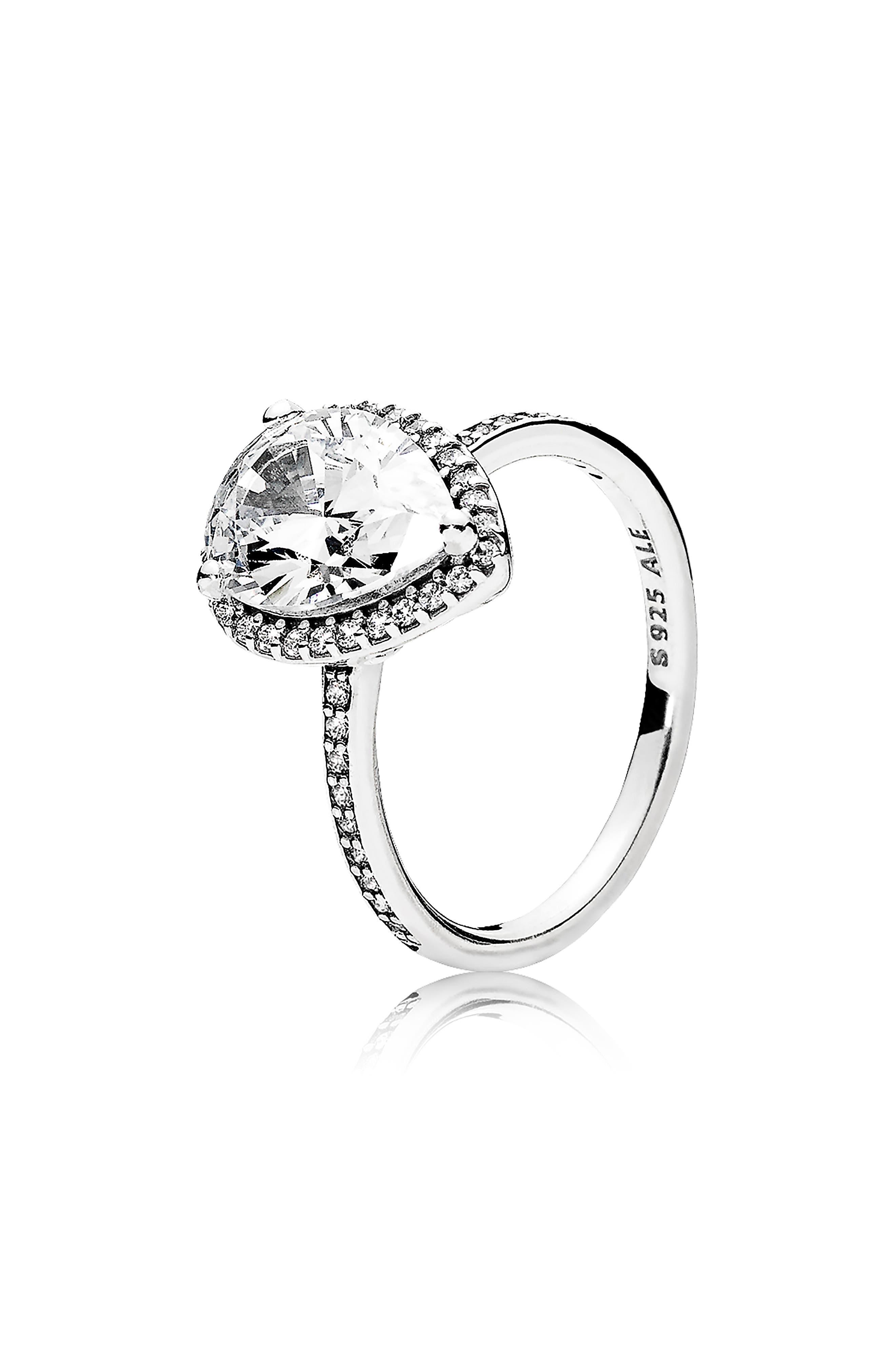 Radiant Teardrop Ring, Main, color, 040