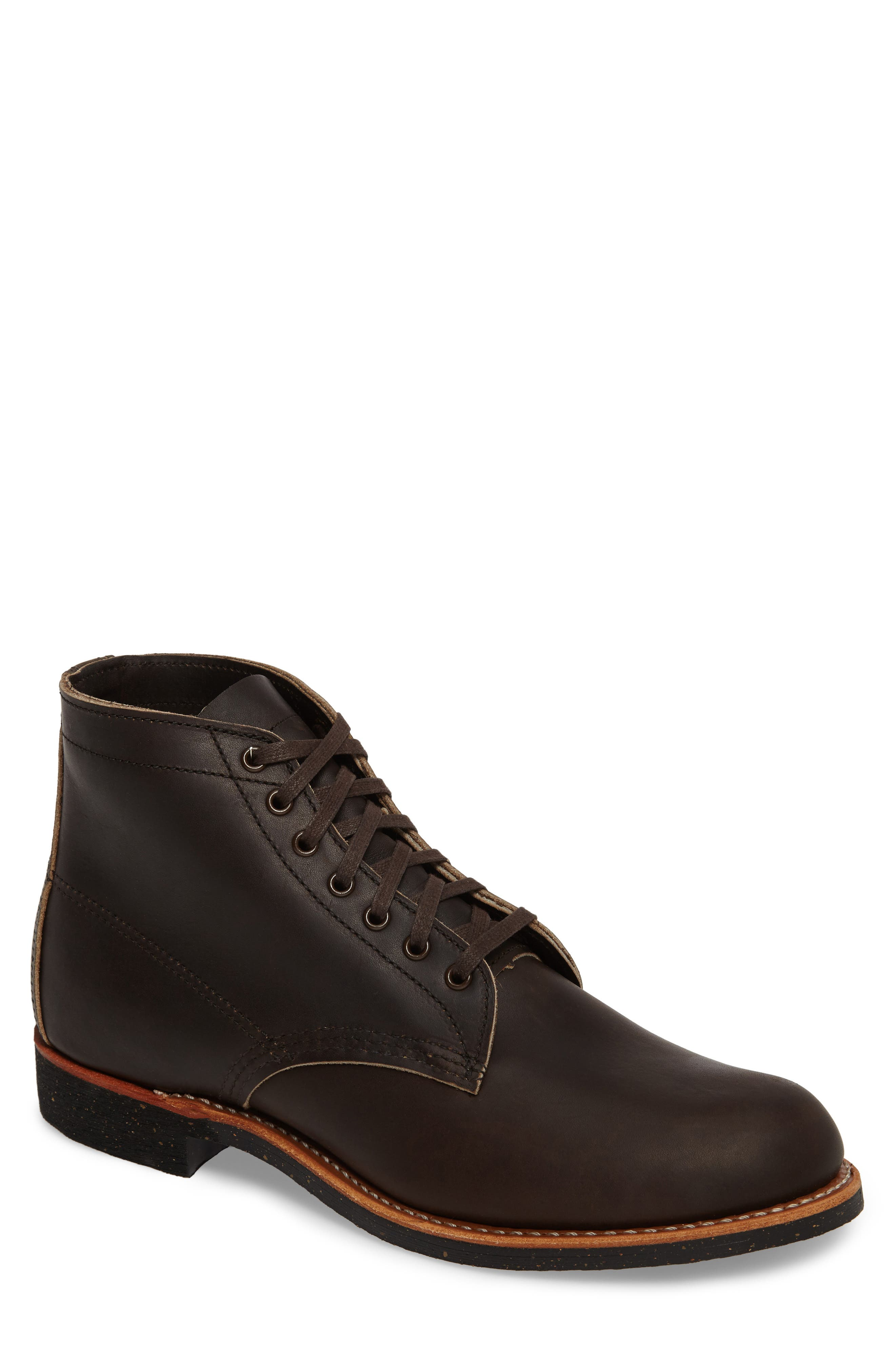 RED WING,                             Merchant Boot,                             Main thumbnail 1, color,                             EBONY HARNESS LEATHER