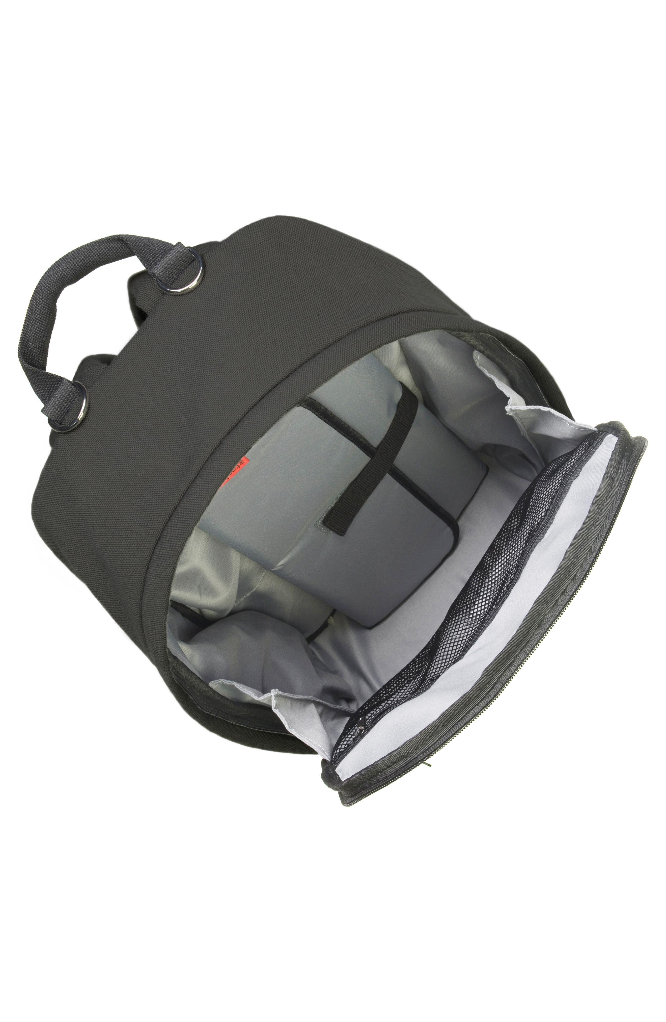 Taylor Diaper Backpack,                             Alternate thumbnail 3, color,                             BLACK