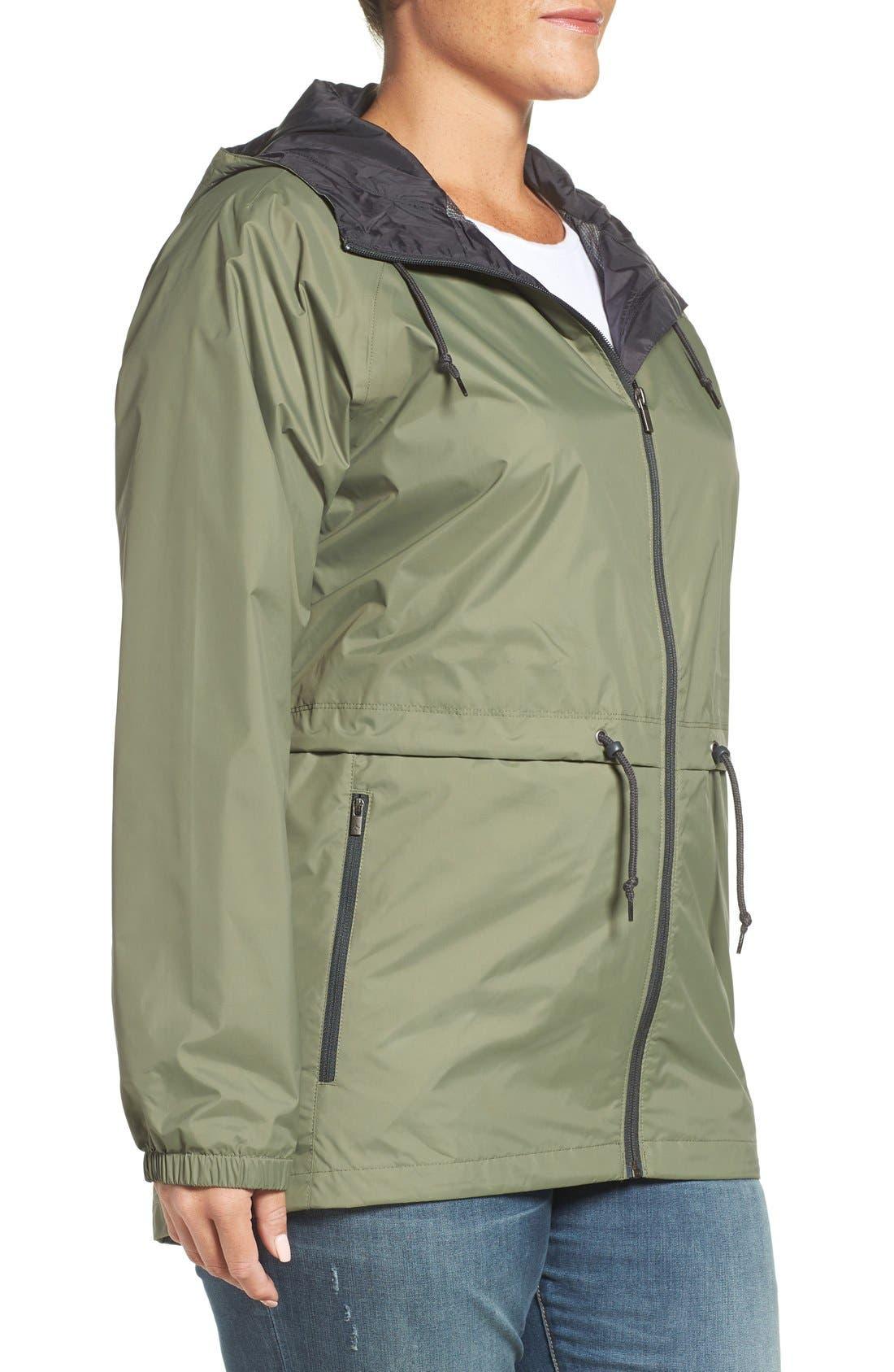 'Arcadia' Hooded Waterproof Casual Jacket,                             Alternate thumbnail 17, color,