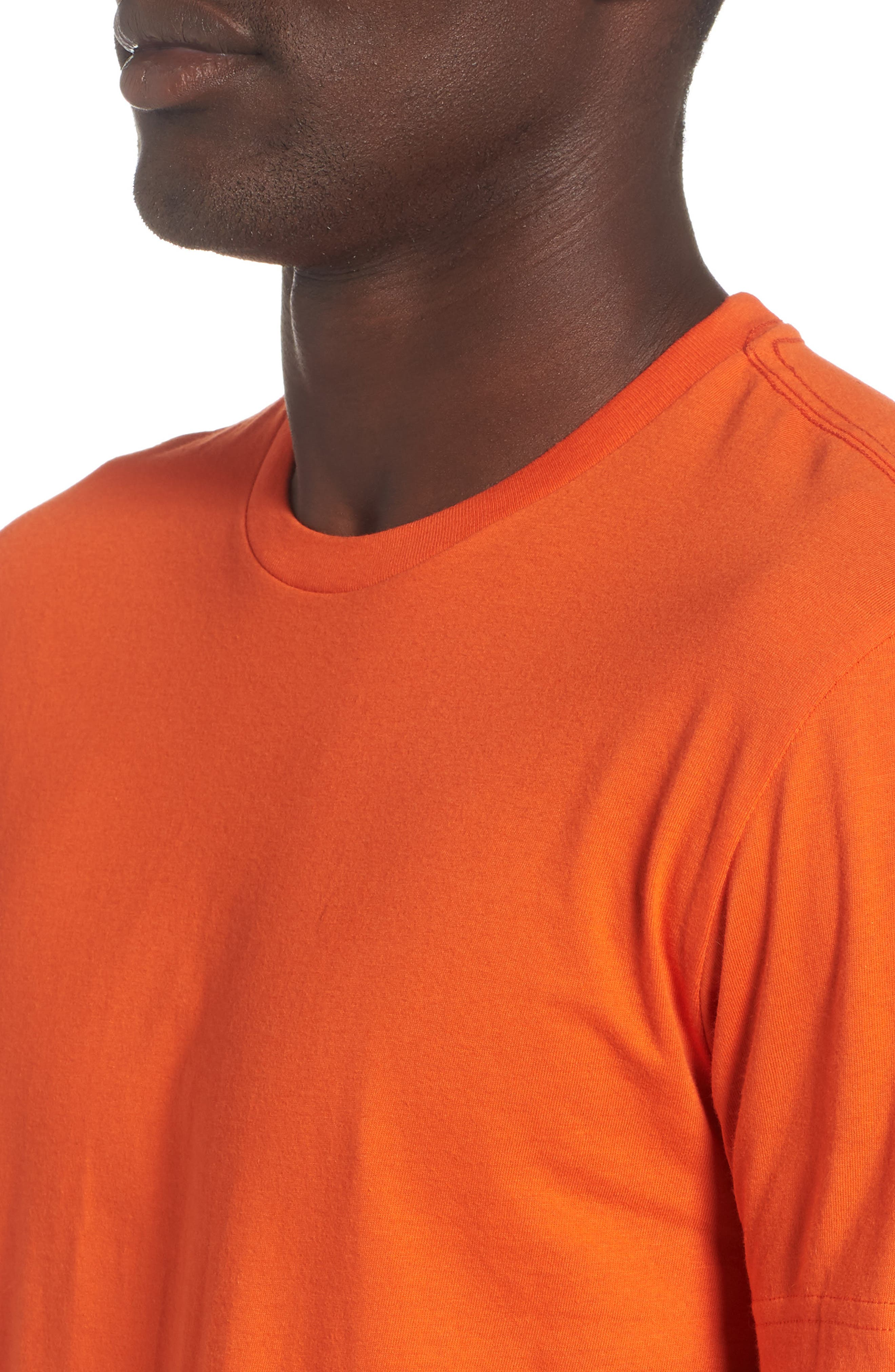 3-Pack Classic Fit T-Shirts,                             Alternate thumbnail 5, color,                             ORANGE/ GREEN/ ROYAL