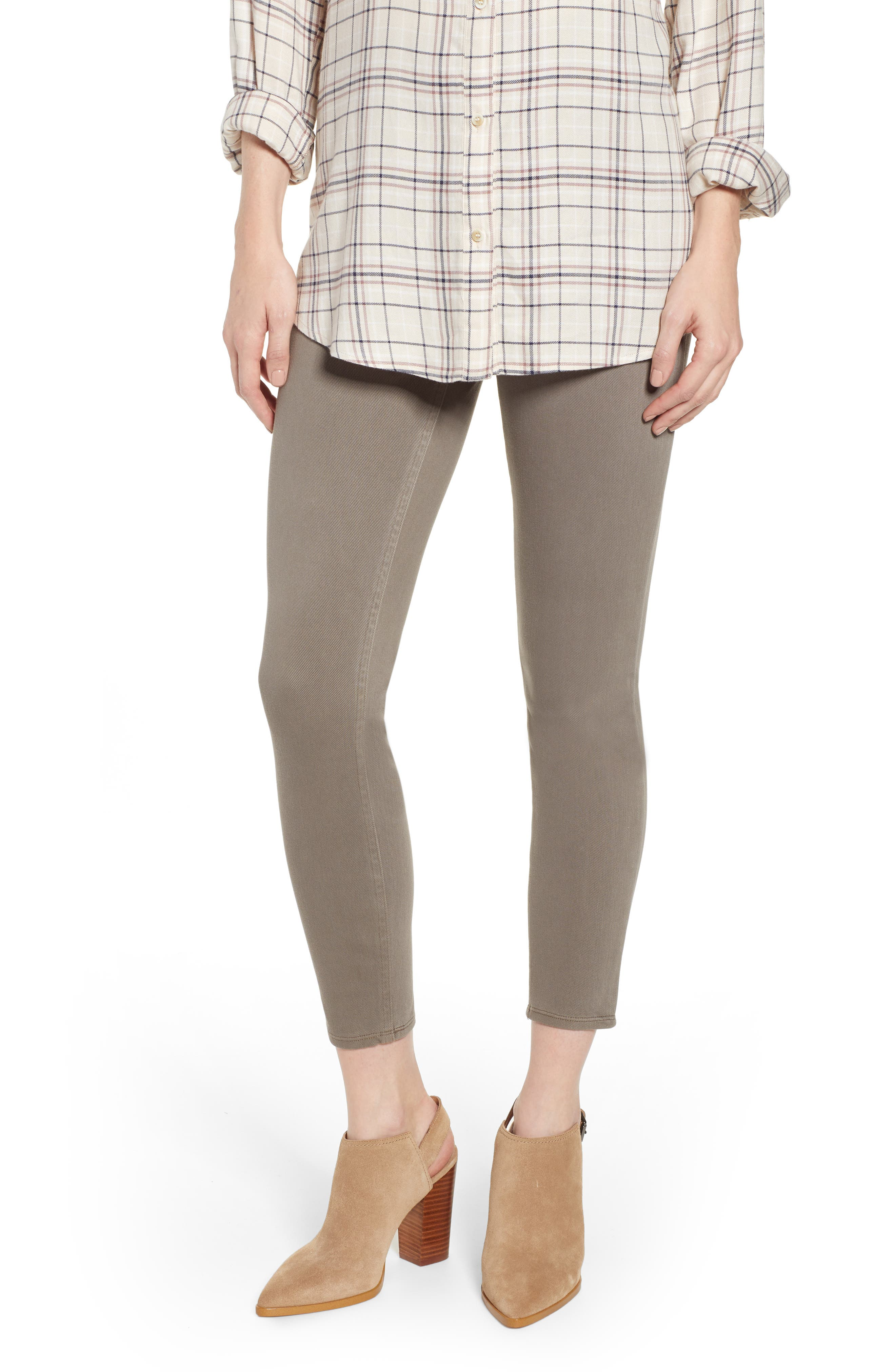 SPANX<SUP>®</SUP> Jean-ish Leggings, Main, color, EARTHY TAUPE