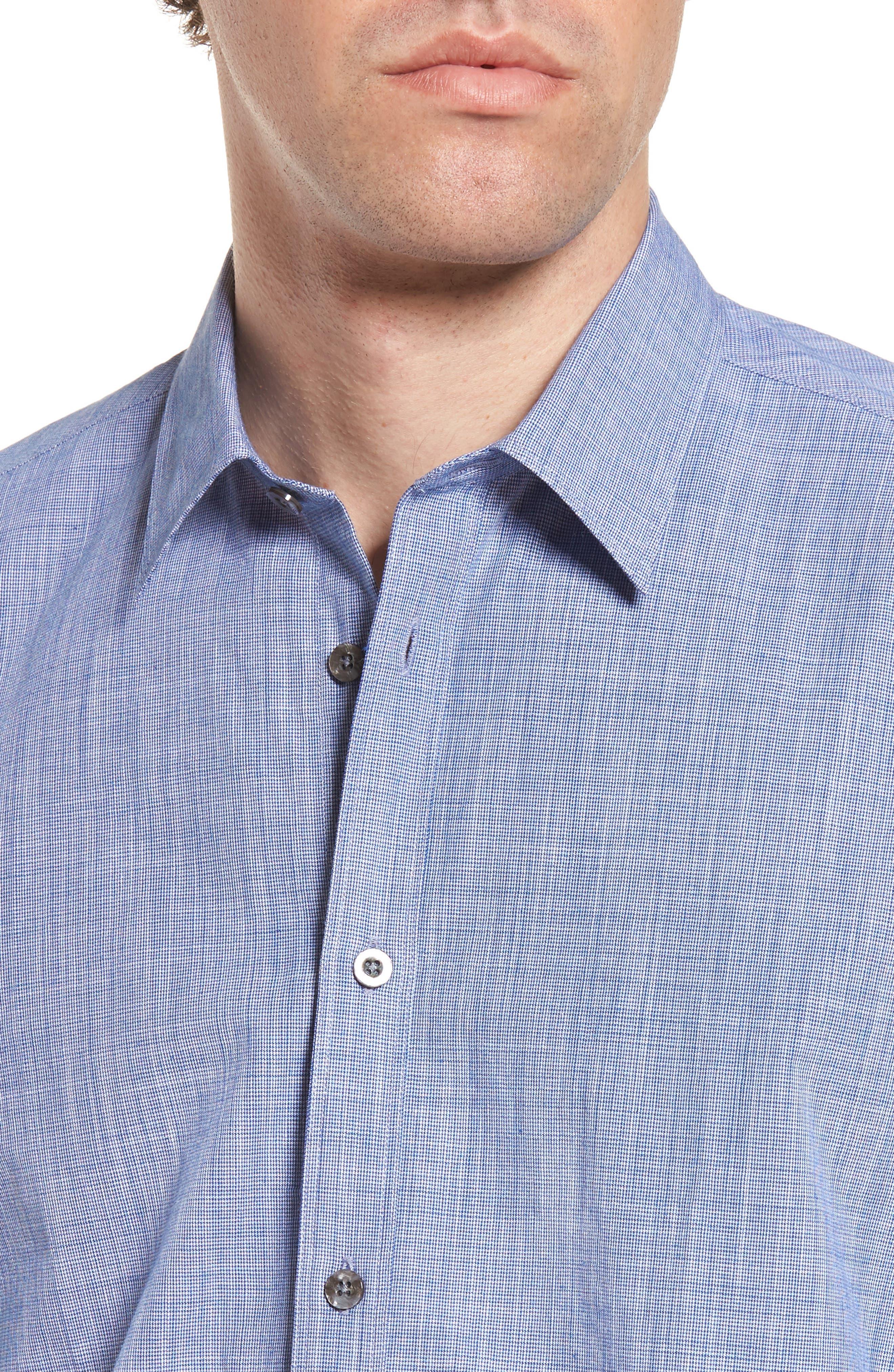 Savas Regular Fit Sport Shirt,                             Alternate thumbnail 7, color,