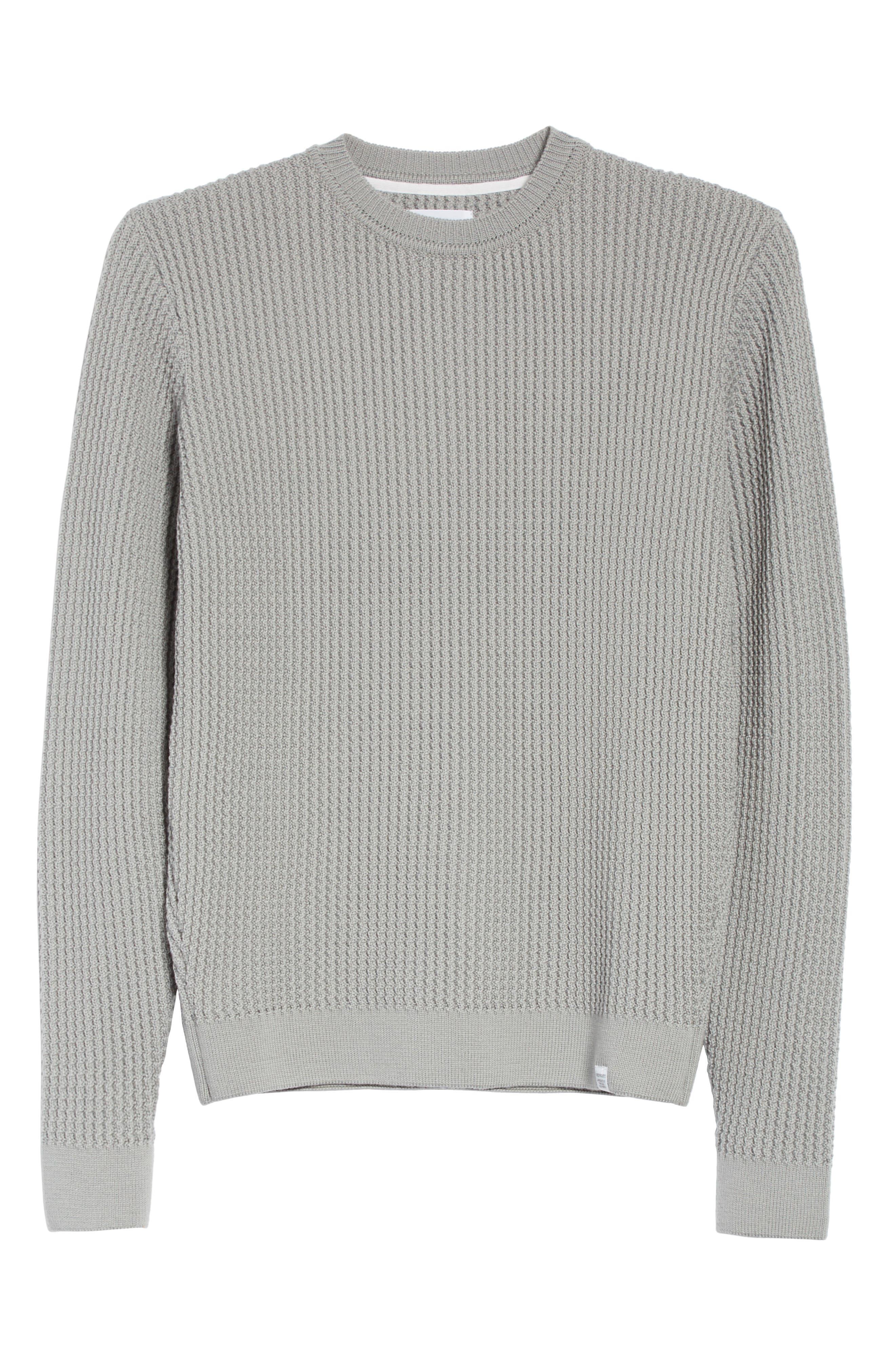 Sigfred Merino Wool Sweater,                             Alternate thumbnail 6, color,                             025