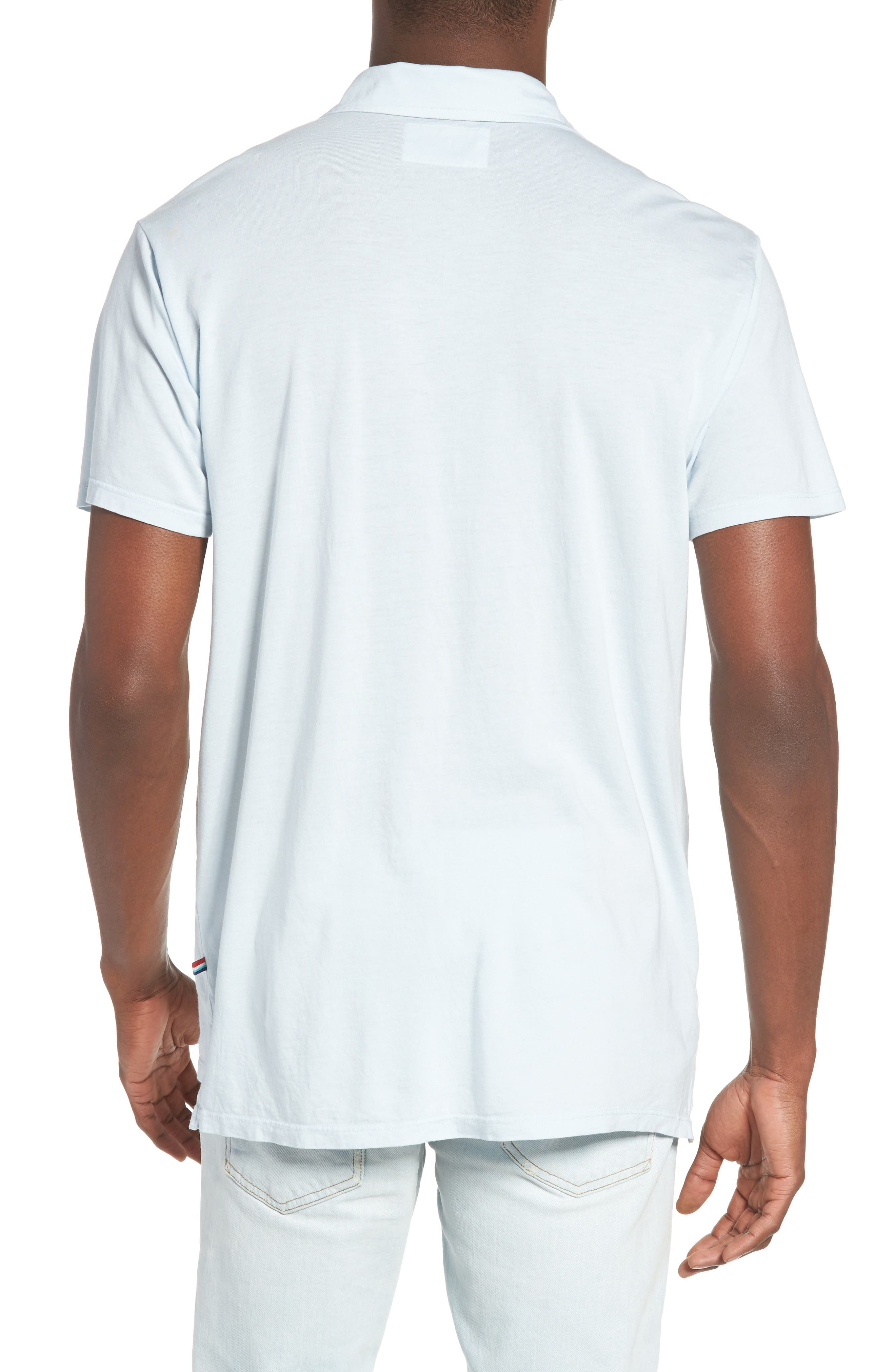 Essential Jersey Polo,                             Alternate thumbnail 8, color,