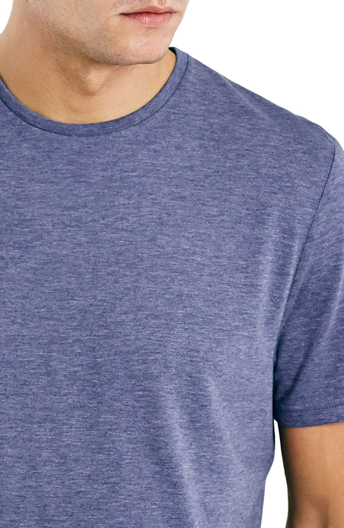 Slim Fit Crewneck T-Shirt,                             Alternate thumbnail 410, color,
