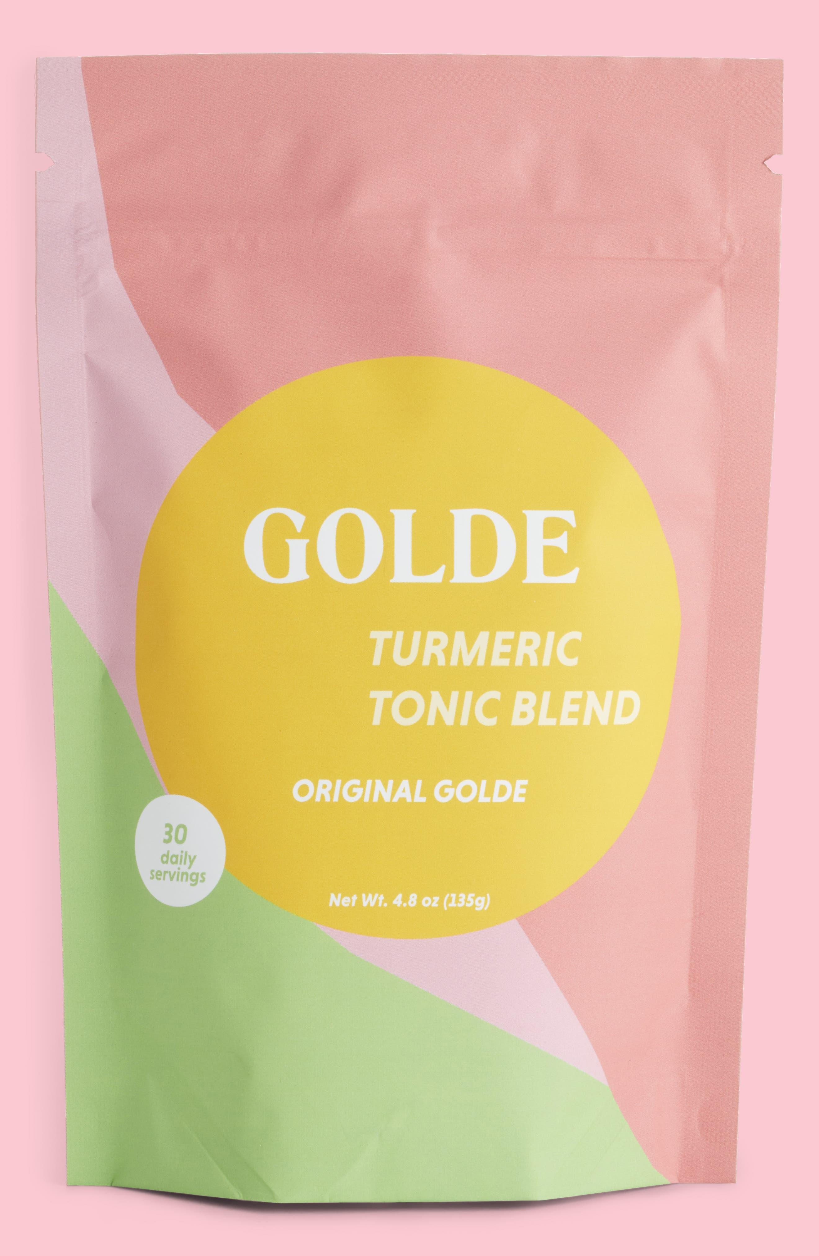 Golde Original Golde Turmeric Tonic Blend,                             Main thumbnail 1, color,                             000
