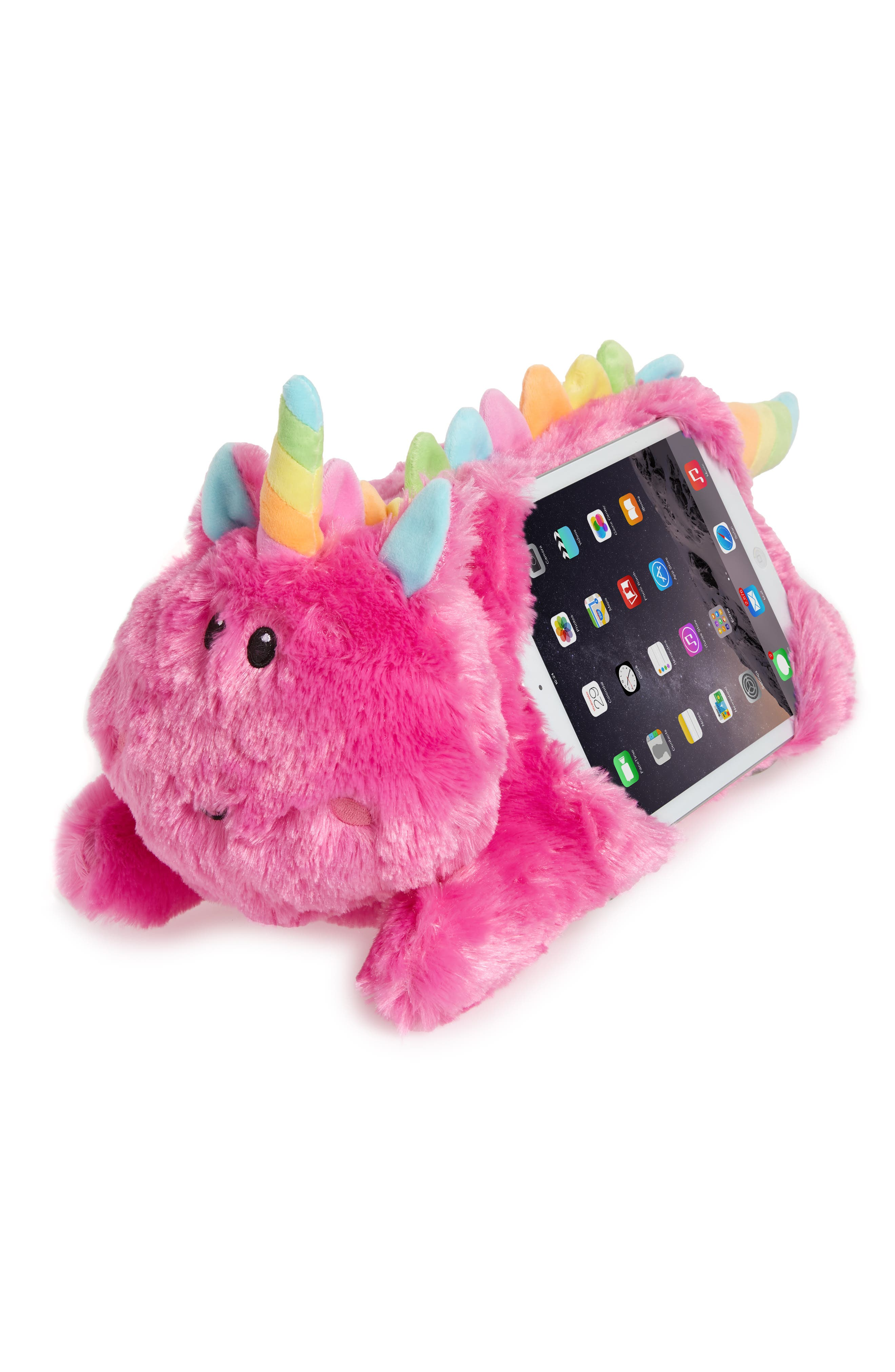 Unicorn Tablet Pillow,                             Main thumbnail 1, color,                             PINK