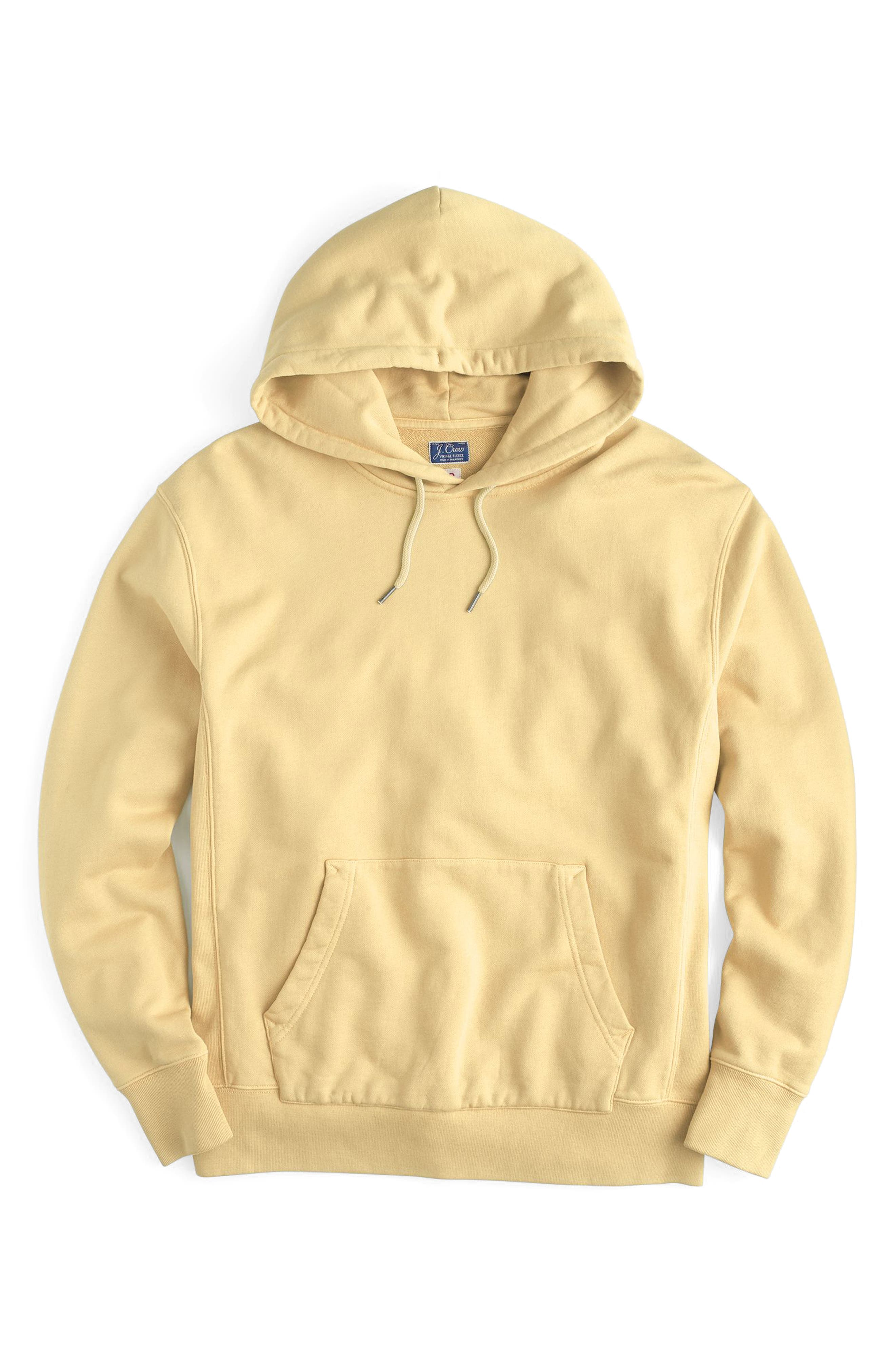 Garment Dyed French Terry Hoodie,                             Main thumbnail 6, color,