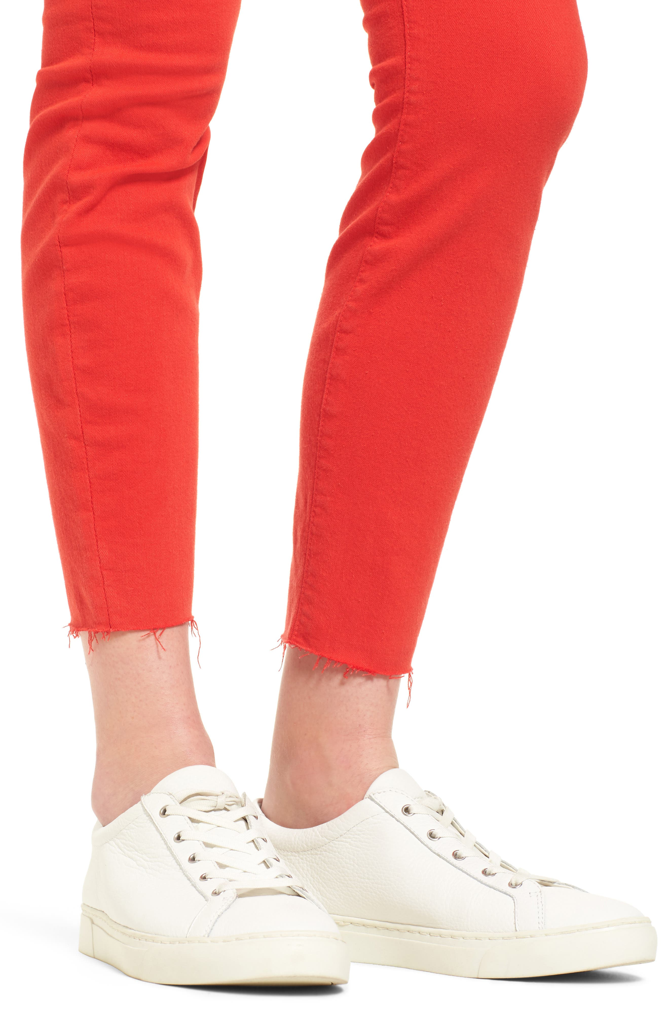 The Stiletto Crop Skinny Jeans,                             Alternate thumbnail 4, color,