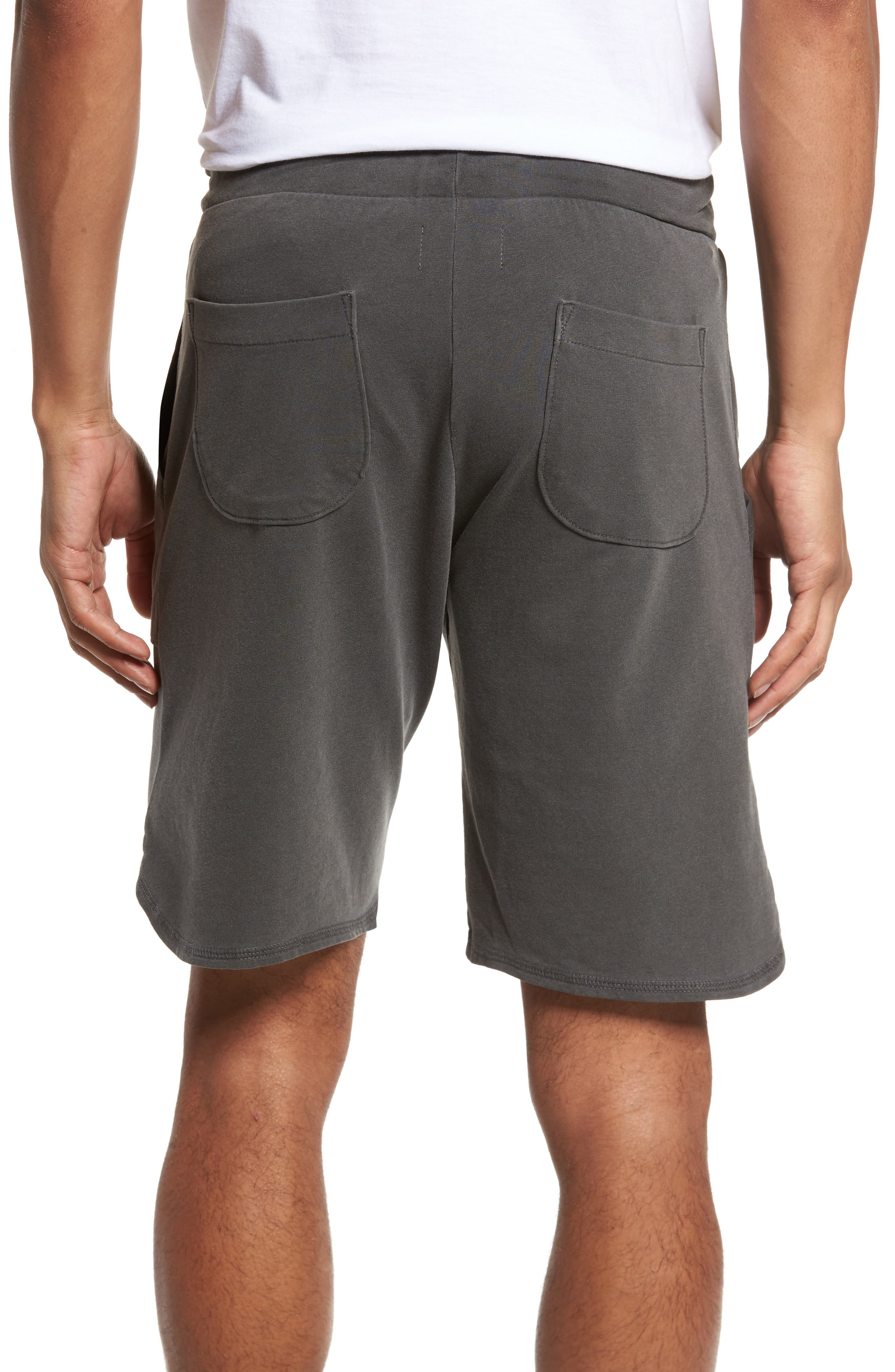 Terrycloth Scallop Shorts,                             Alternate thumbnail 2, color,                             009