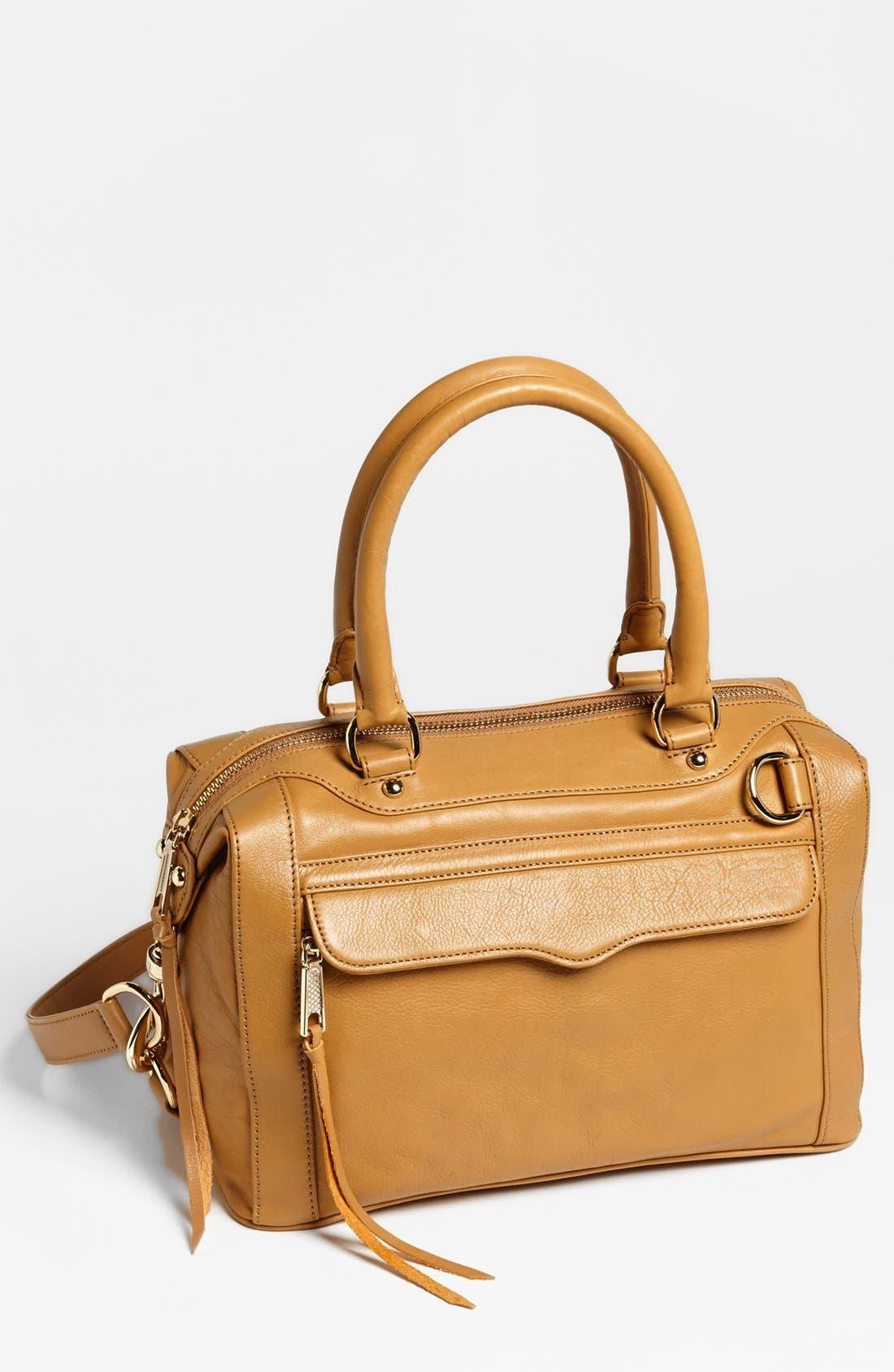 'MAB - Mini' Leather Satchel,                             Main thumbnail 2, color,