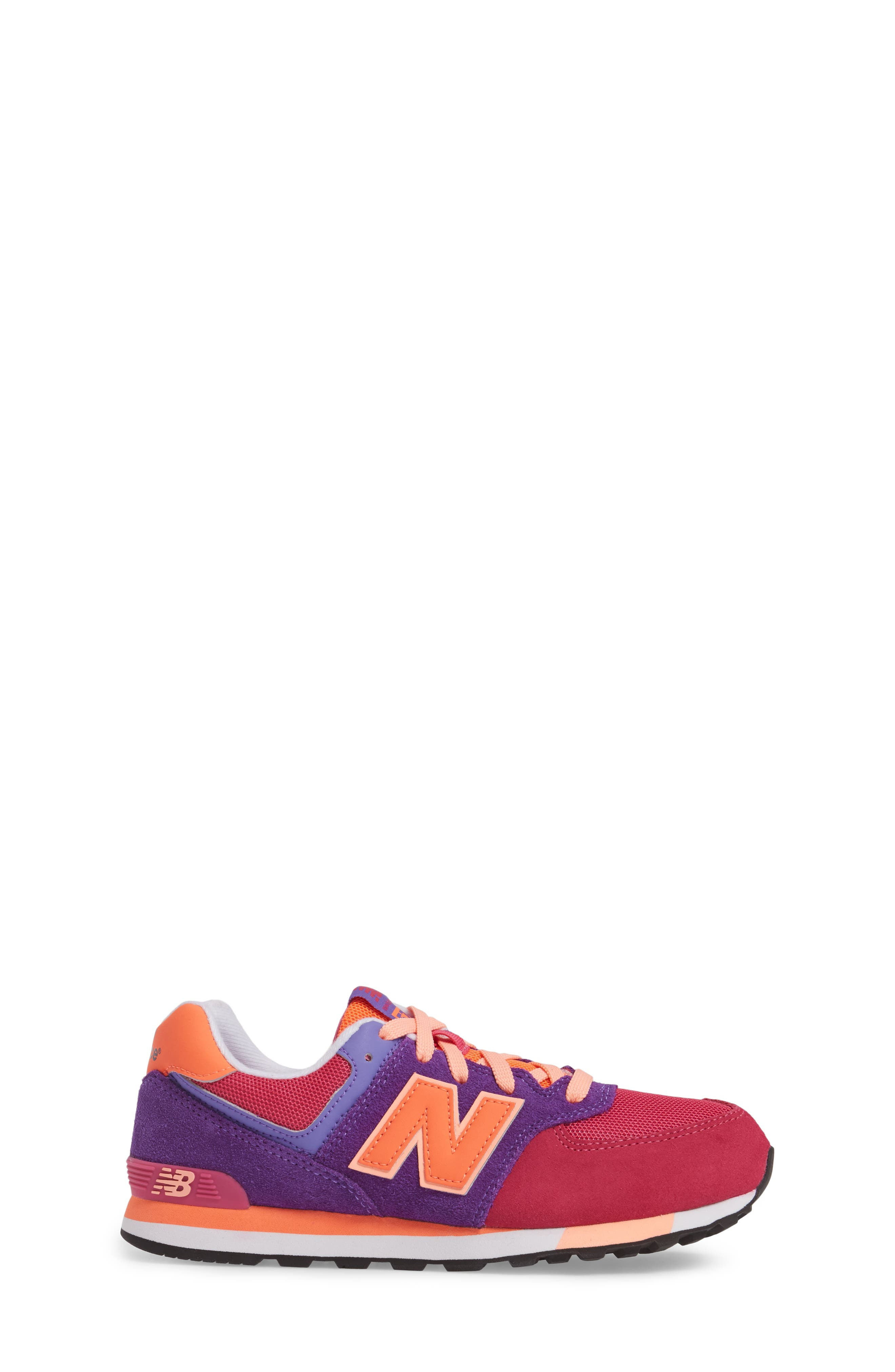 574 Cut & Paste Sneaker,                             Alternate thumbnail 3, color,                             655