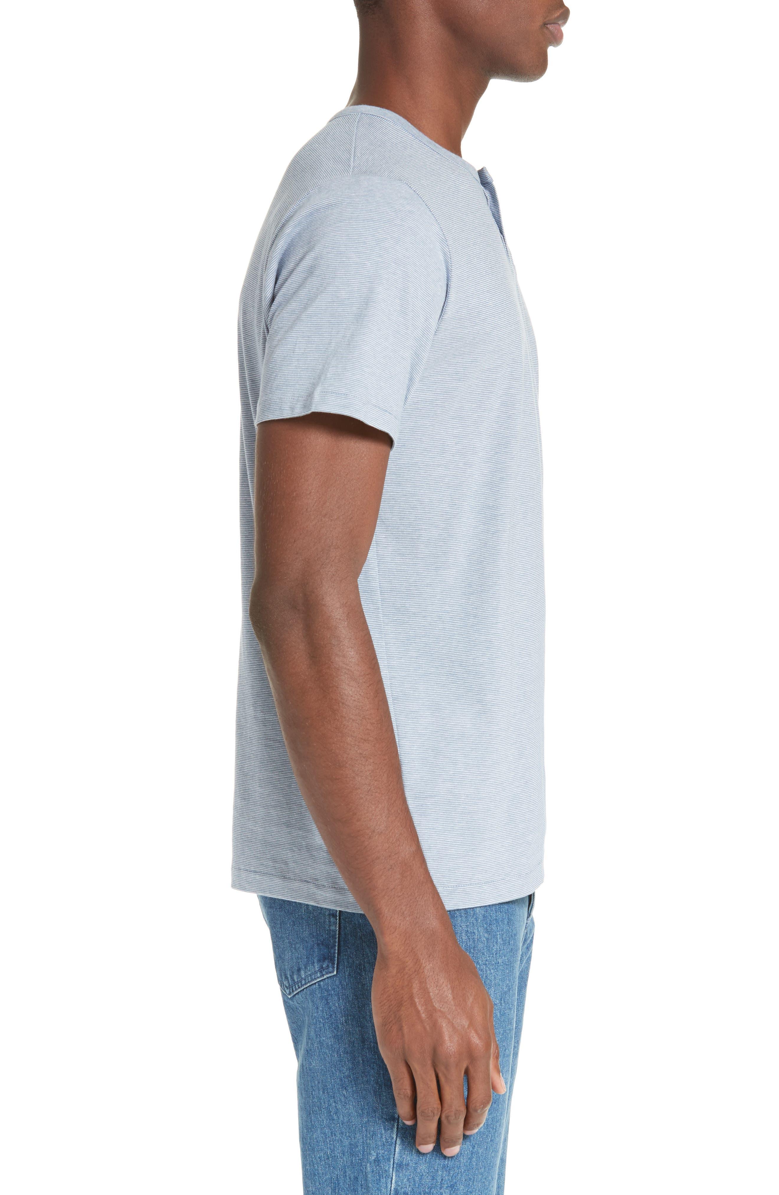Eric Stripe Henley T-Shirt,                             Alternate thumbnail 2, color,                             400