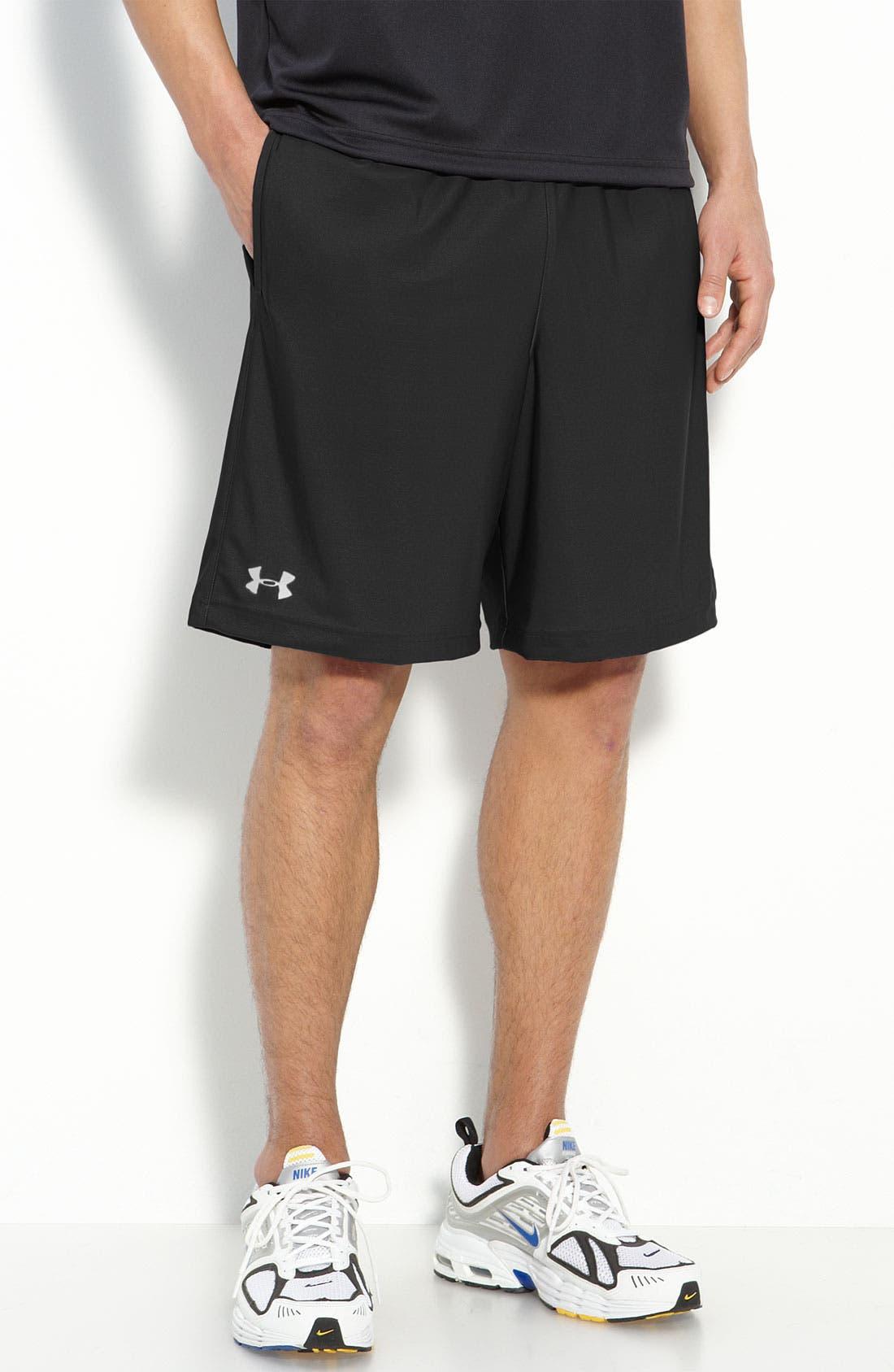 'Micro' HeatGear<sup>®</sup> Knit Shorts,                             Main thumbnail 1, color,                             001