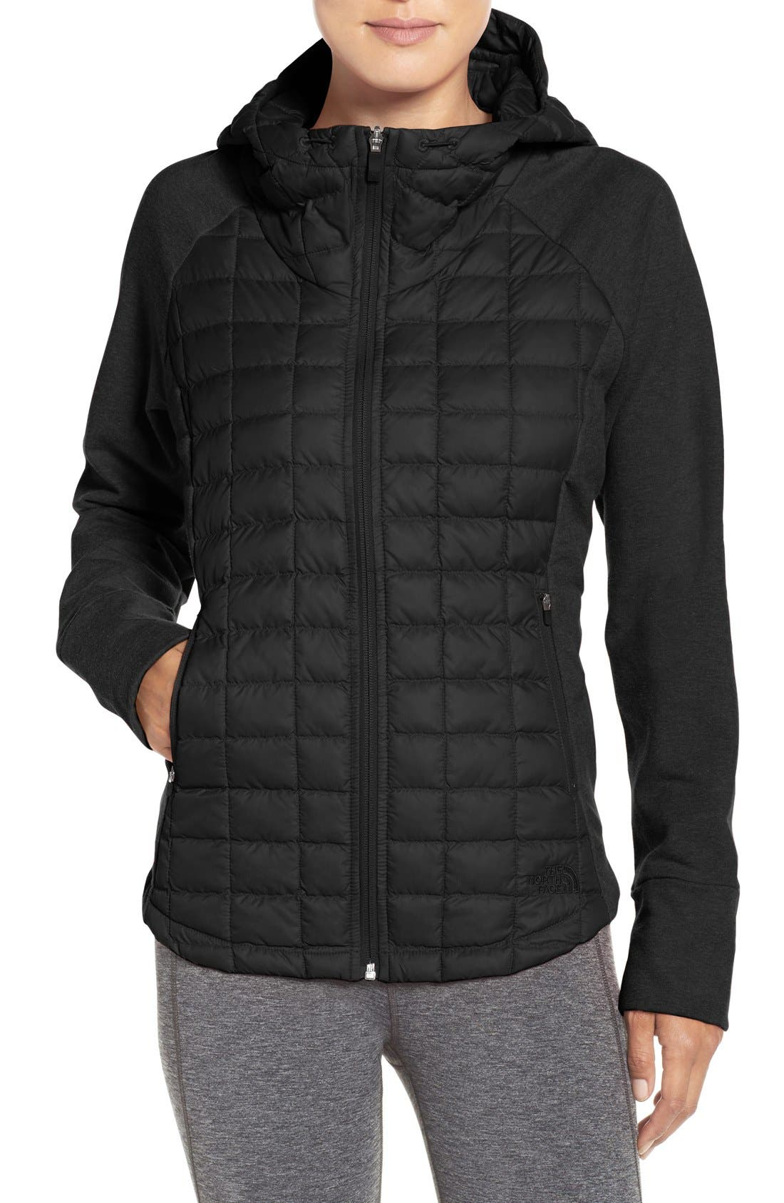 'Endeavor' ThermoBall PrimaLoft<sup>®</sup> Quilted Jacket,                             Main thumbnail 1, color,                             001