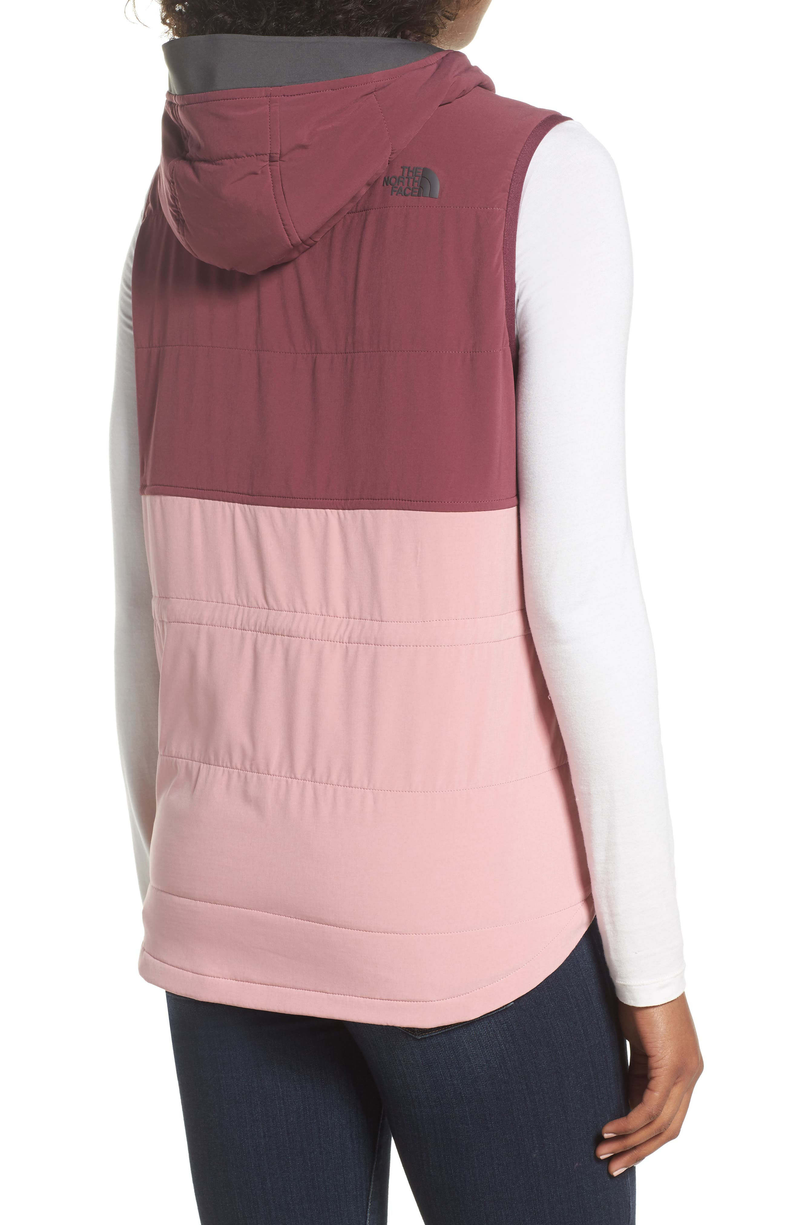 Mountain Sweatshirt Insulated Hooded Vest,                             Alternate thumbnail 8, color,