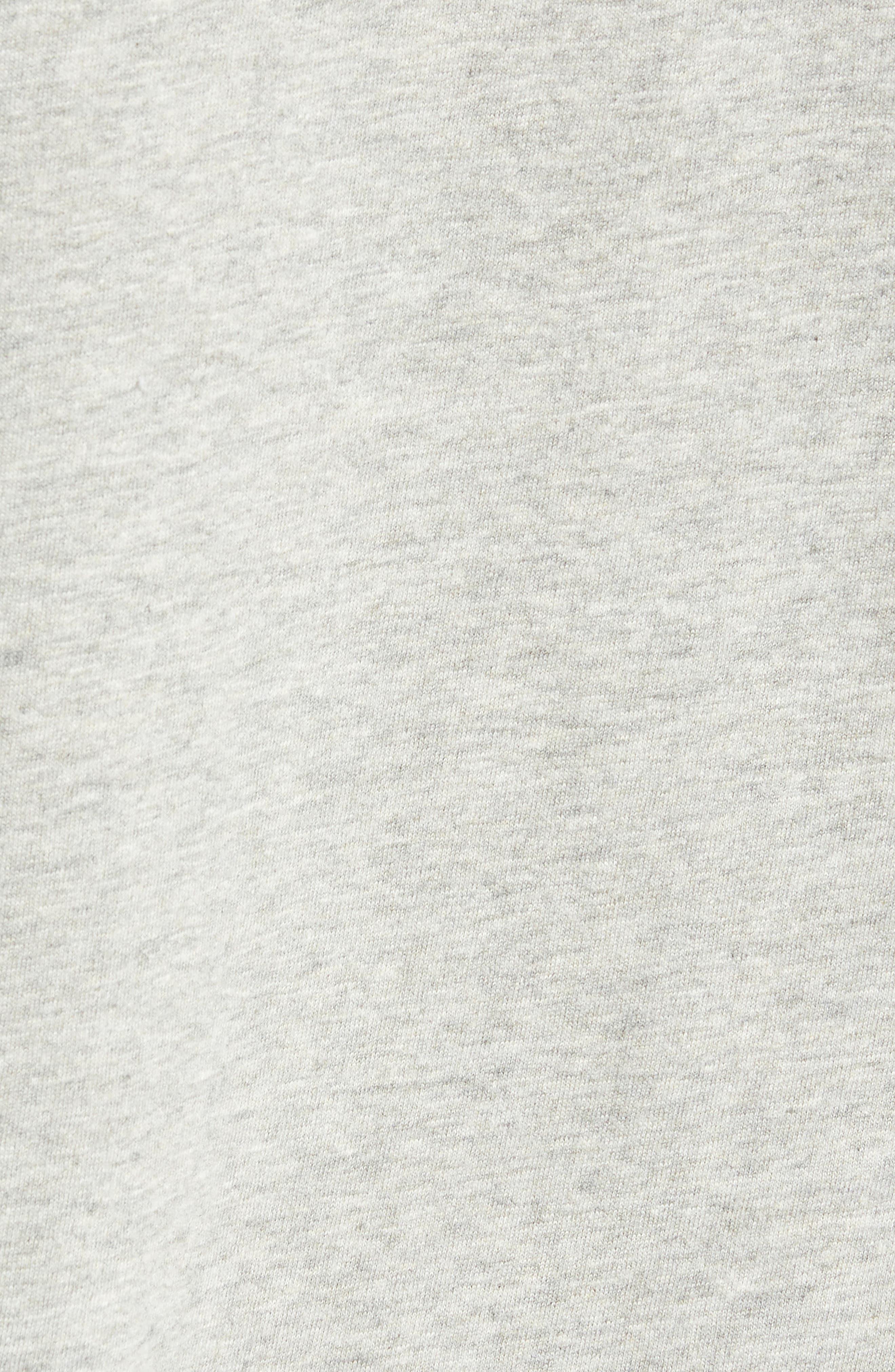 Motorcycle Regular Fit Cotton T-Shirt,                             Alternate thumbnail 5, color,                             GREY MELANGE BLACK