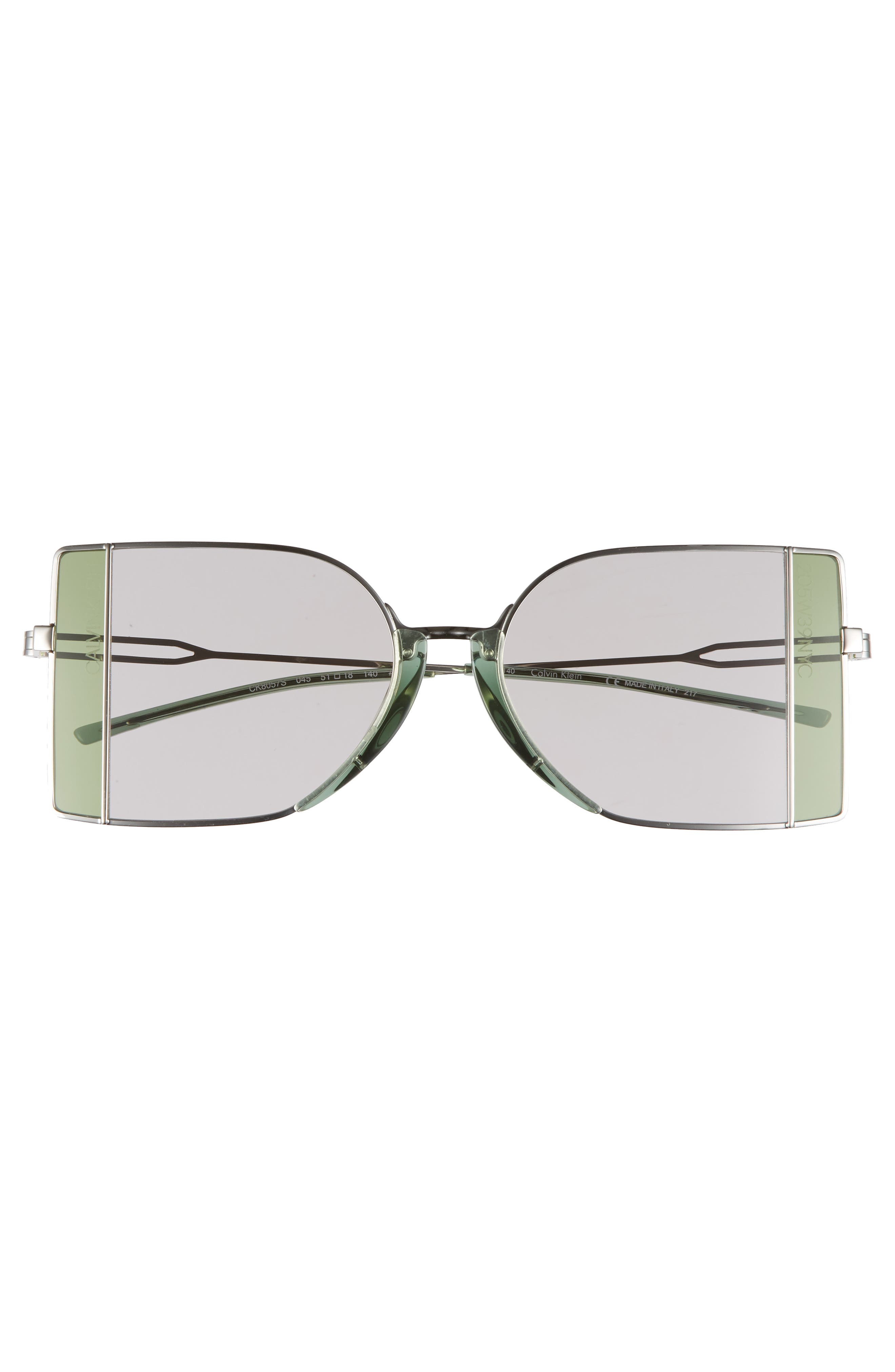 51mm Butterfly Sunglasses,                             Alternate thumbnail 3, color,                             041