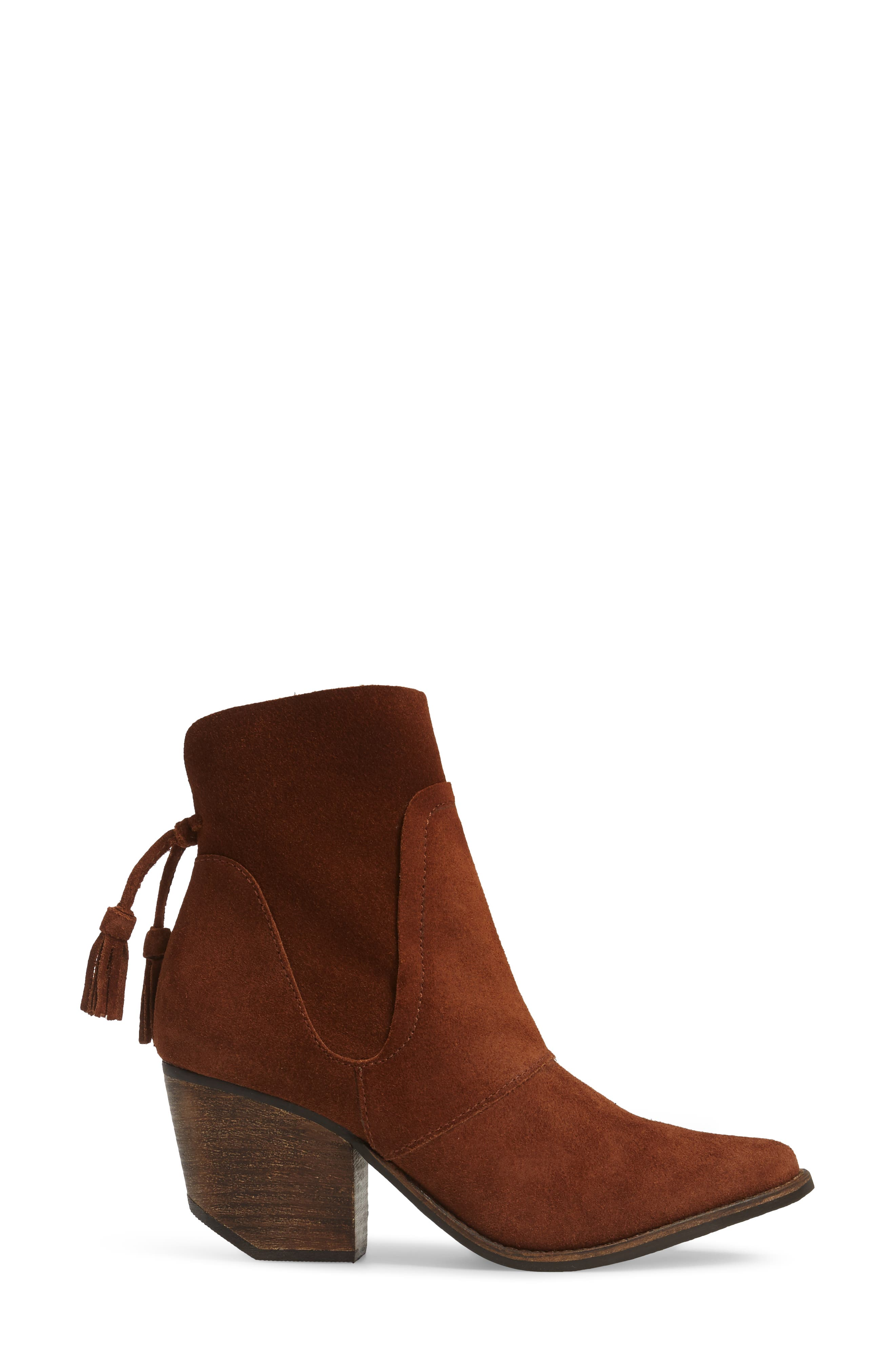 Laney Notched Heel Bootie,                             Alternate thumbnail 11, color,
