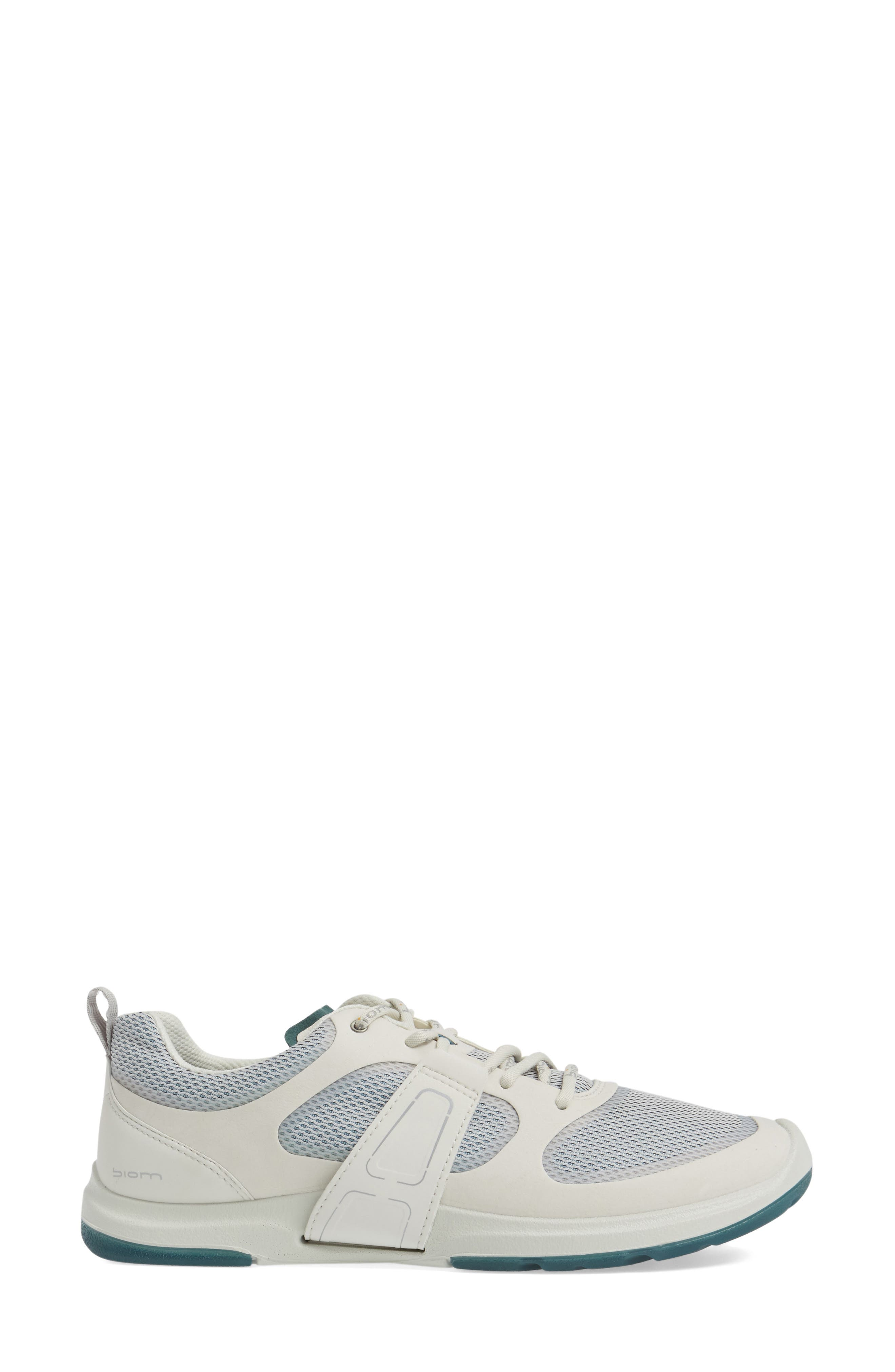 BIOM Amrap Sneaker,                             Alternate thumbnail 3, color,                             SHADOW WHITE LEATHER