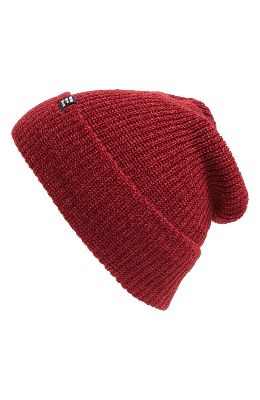 'Quartz' Solid Knit Cap,                             Main thumbnail 8, color,