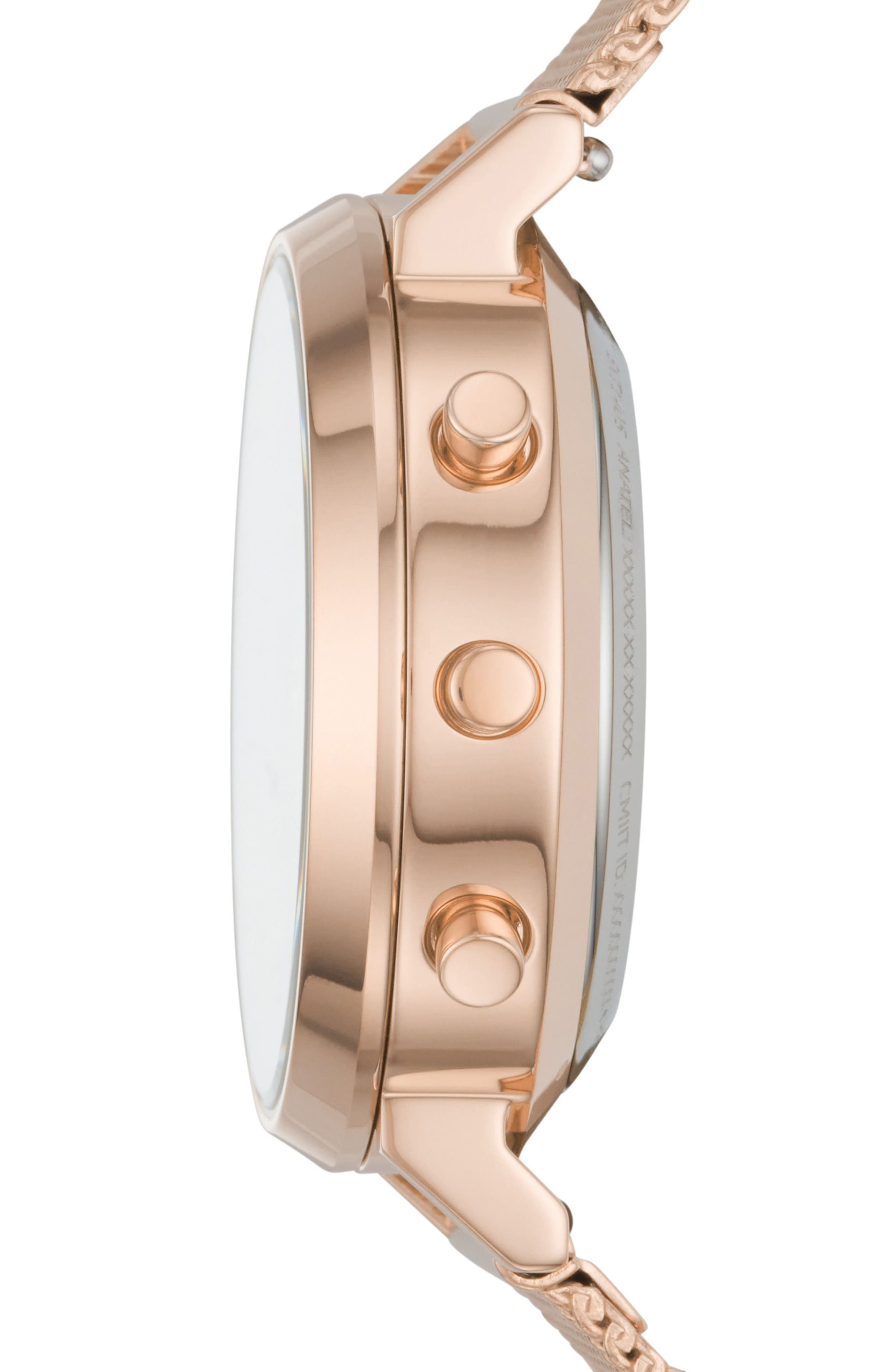 Hald Mesh Strap Hybrid Smart Watch, 34mm,                             Alternate thumbnail 11, color,