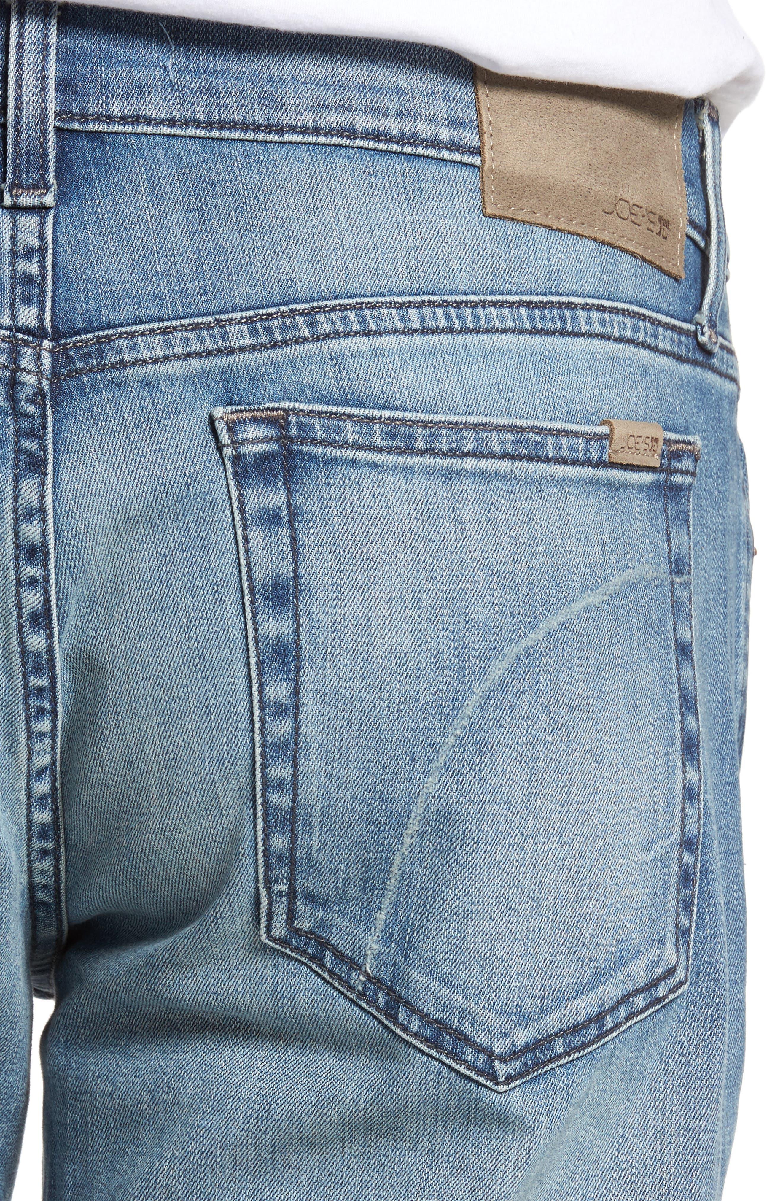 Slim Fit Jeans,                             Alternate thumbnail 4, color,                             135