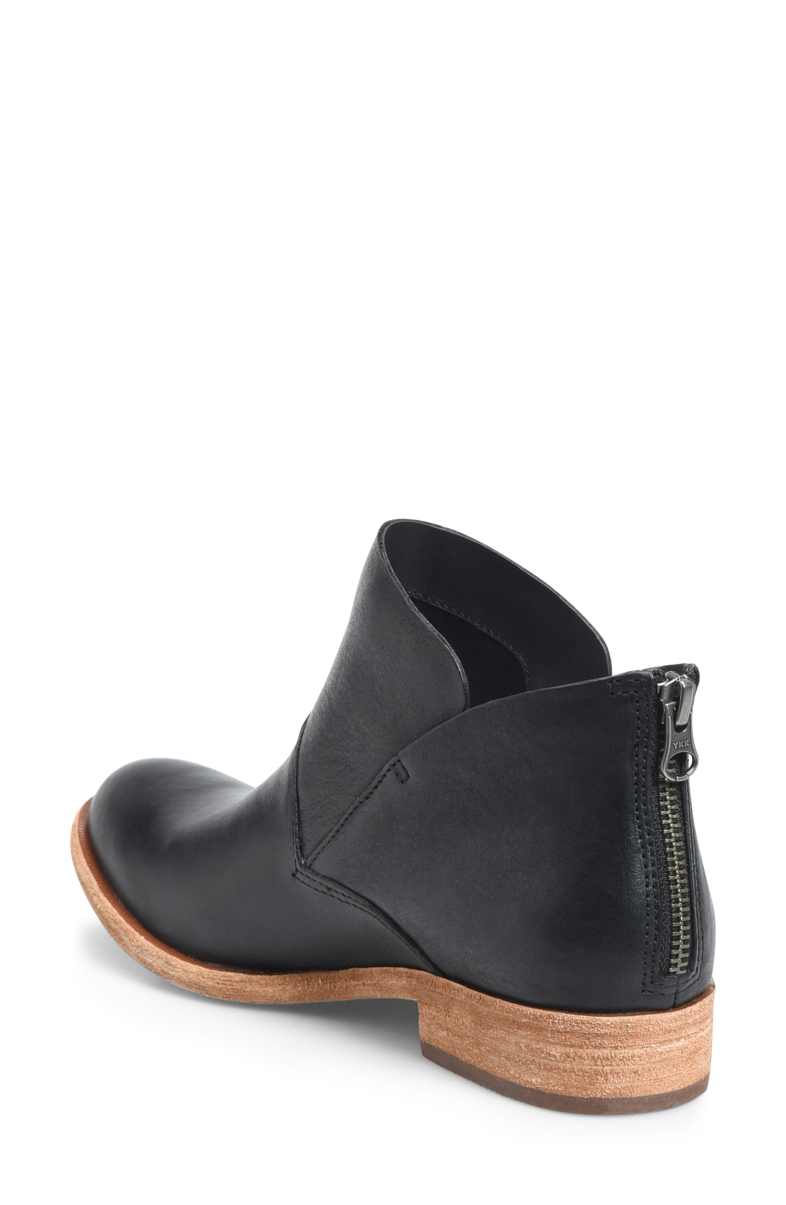 Ryder Ankle Boot,                             Alternate thumbnail 2, color,                             BLACK LEATHER