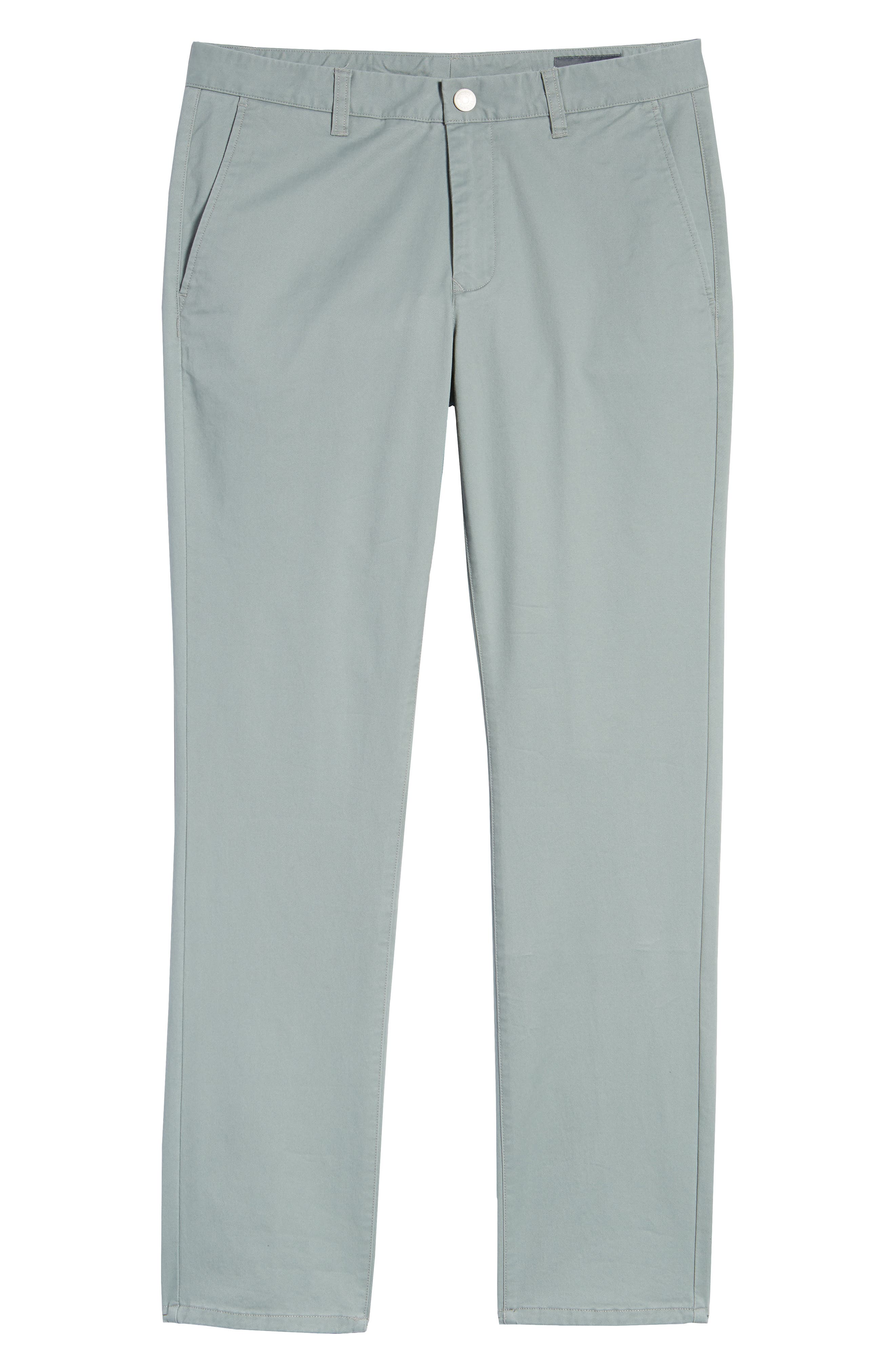 Tailored Fit Washed Stretch Cotton Chinos,                             Alternate thumbnail 183, color,