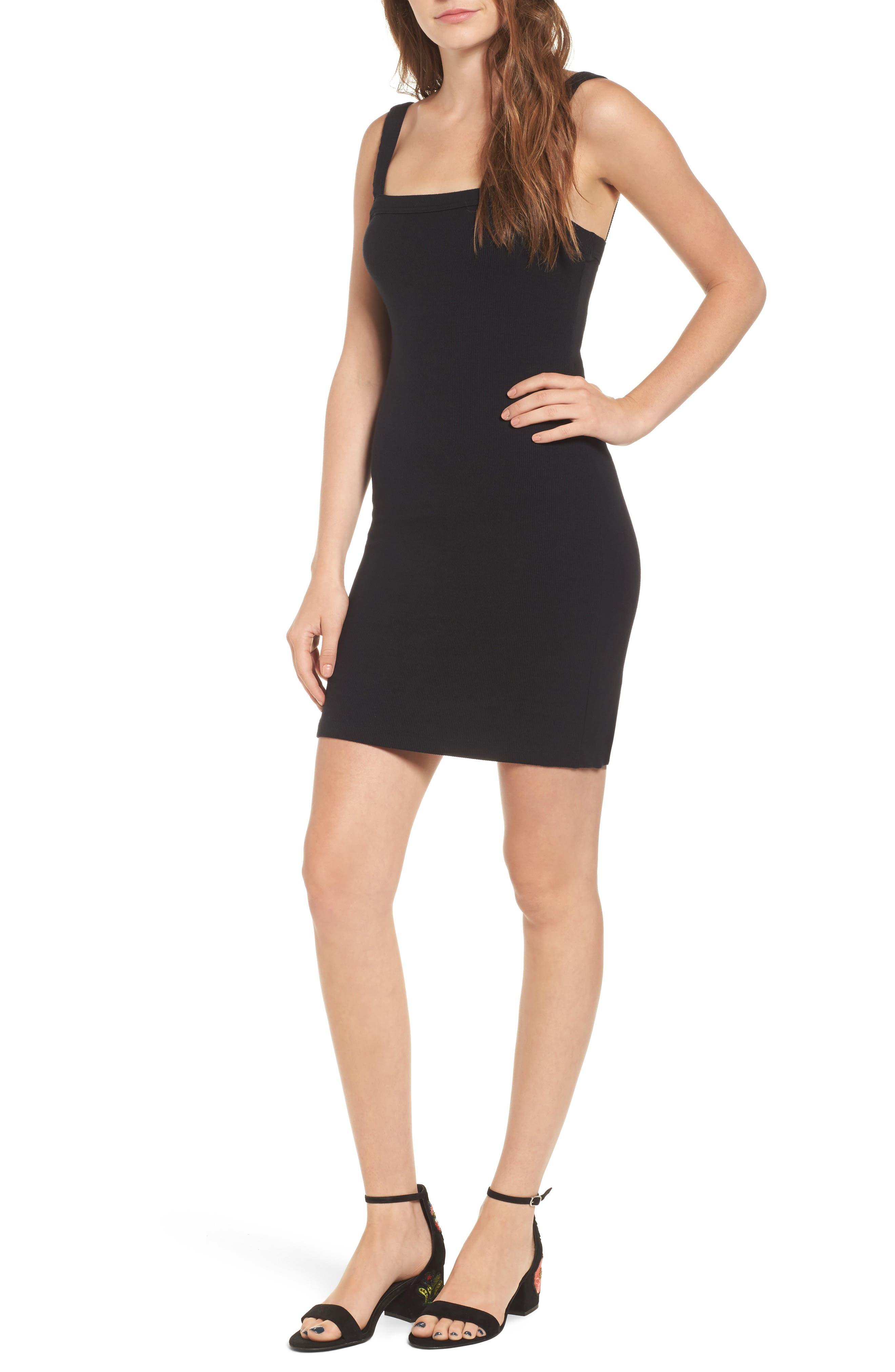 Bradian Body-Con Dress,                         Main,                         color, 001